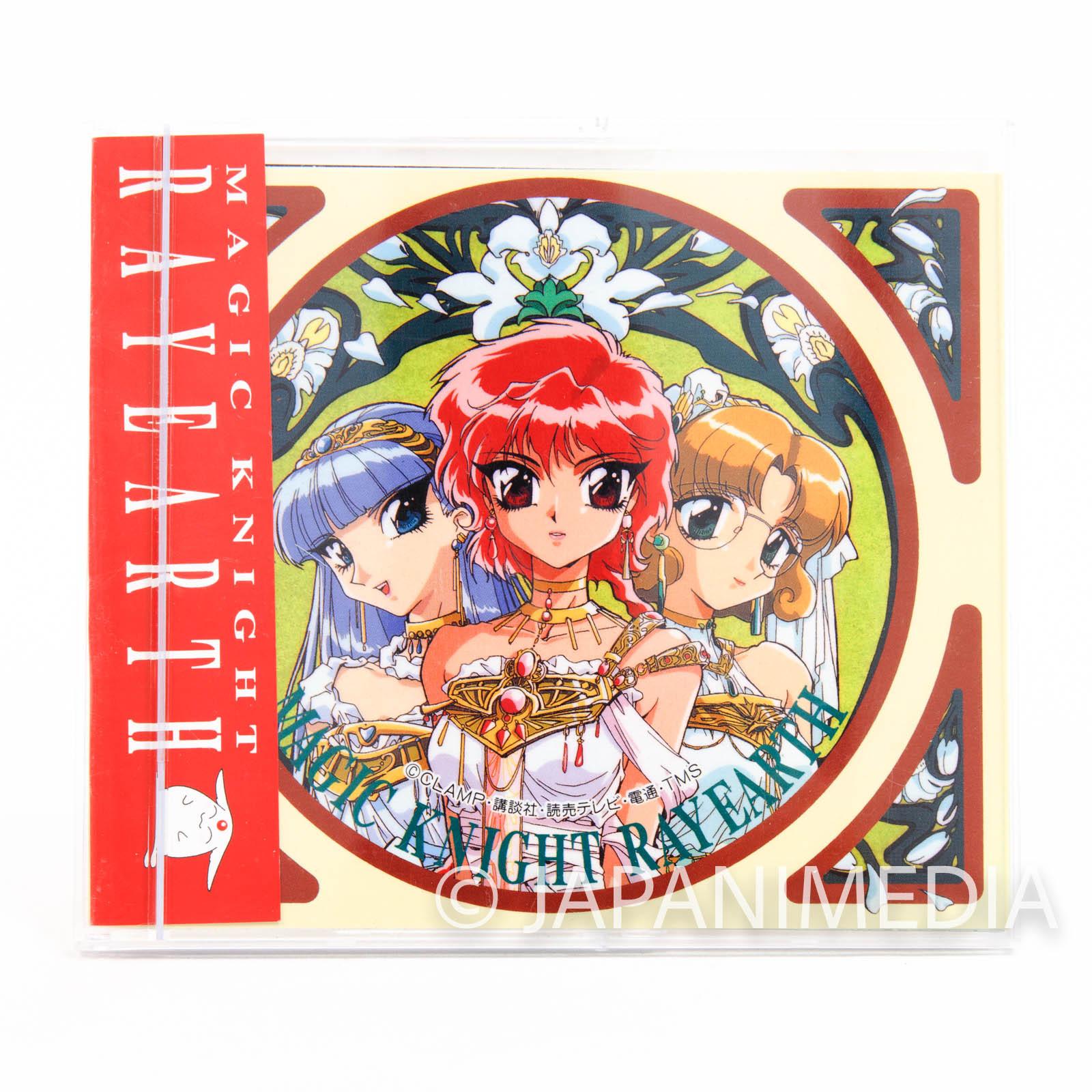 Magic Knight Rayearth Sticker collection 6 sheet Set JAPAN ANIME