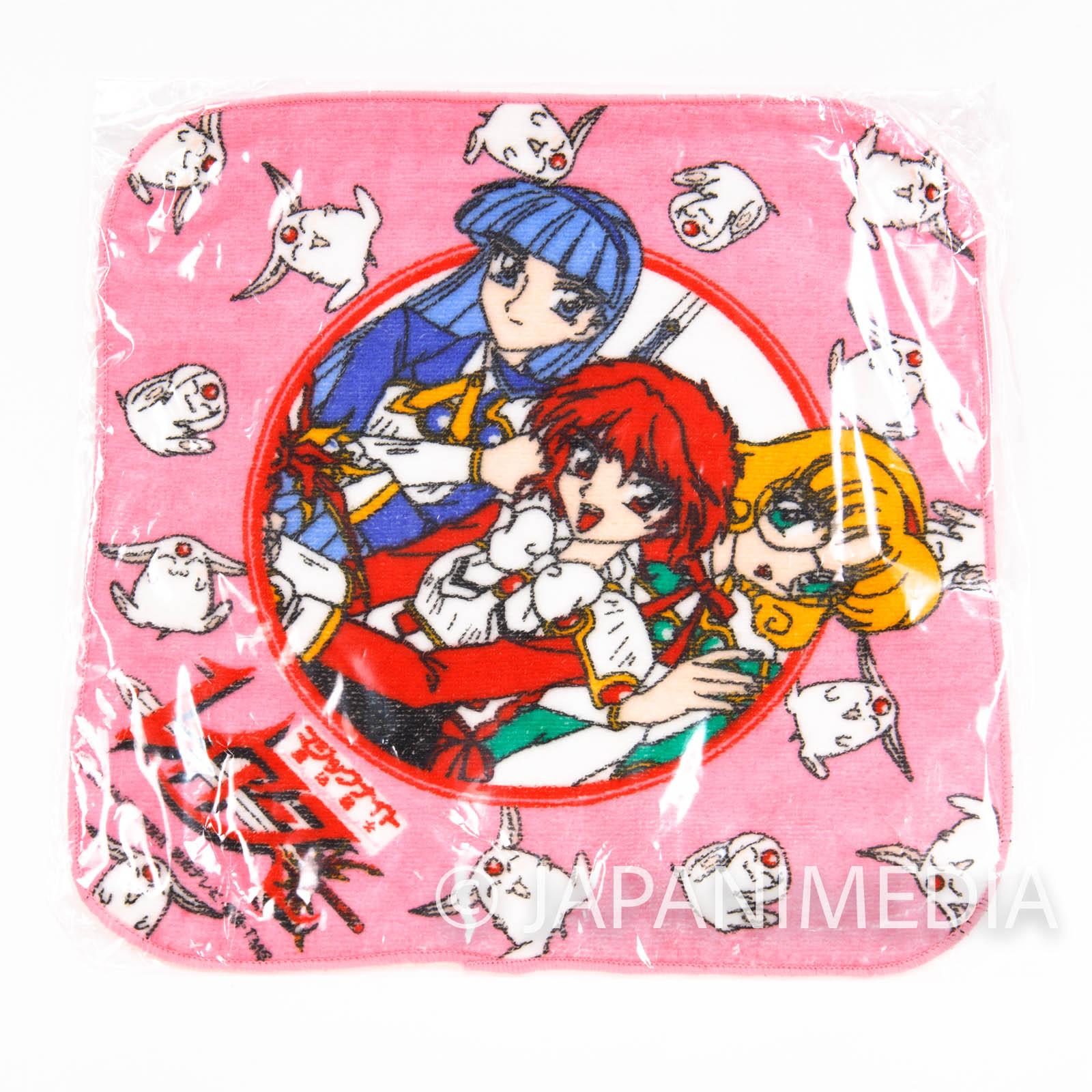 Magic Knight Rayearth Mini Towel [Hikaru / Umi / Fuu] JAPAN ANIME