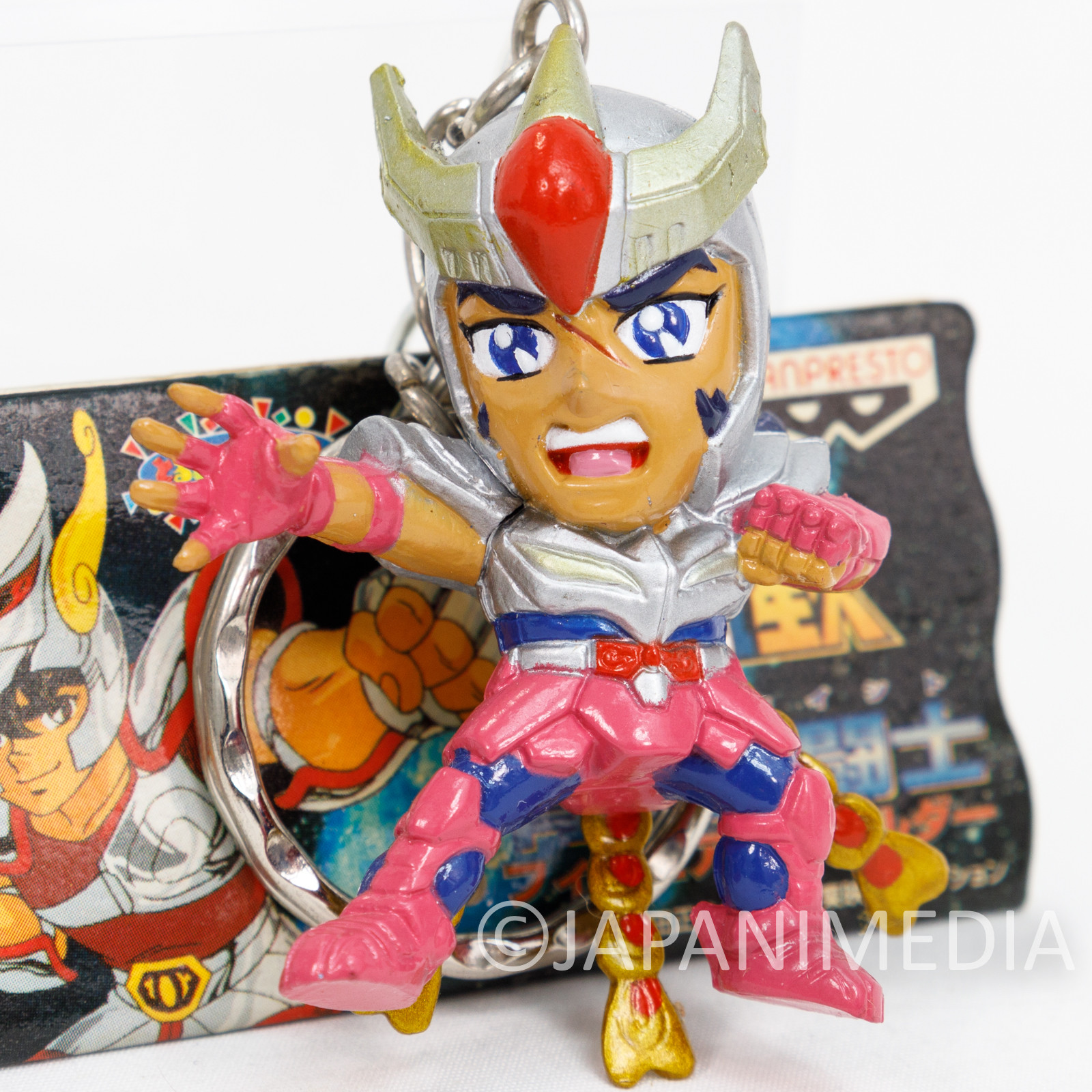 Saint Seiya Bronze Saint Phoenix Ikki Figure Key Chain JAPAN ANIME MANGA