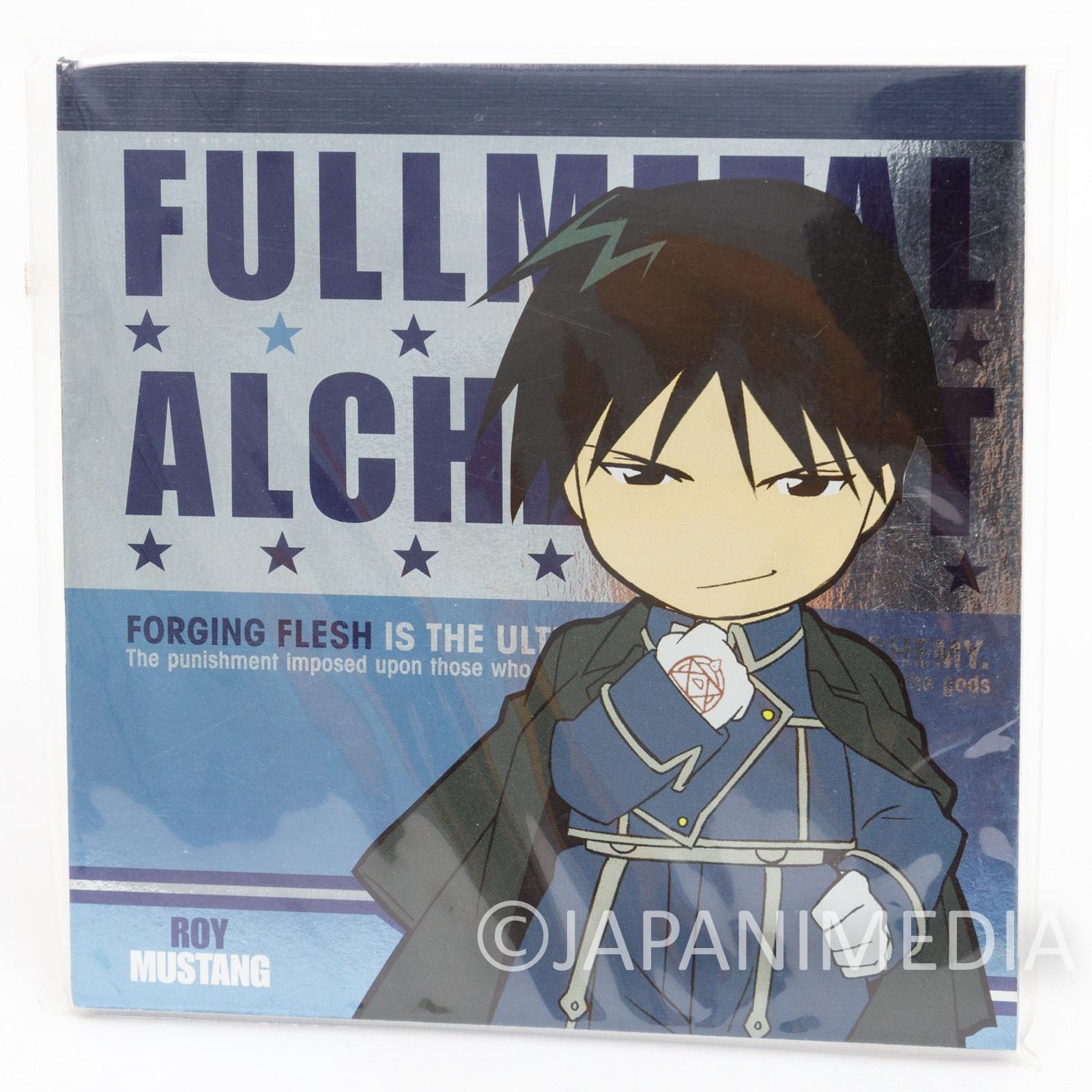 FullMetal Alchemist Roy Mustang Memo Pad Notebook JAPAN ANIME