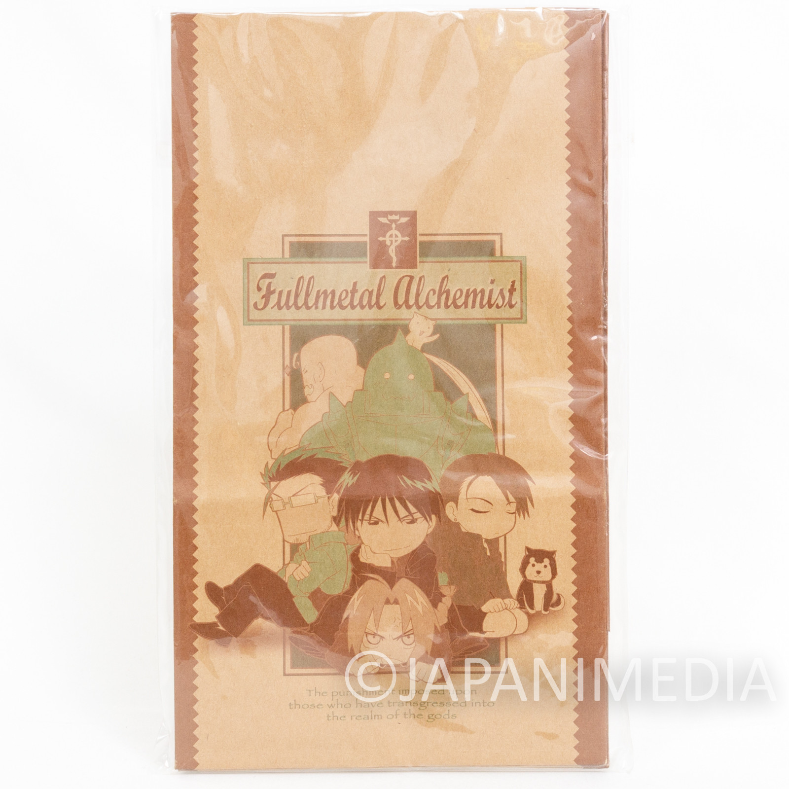 FullMetal Alchemist Paper Gift Bag 5pc Set w/Seals JAPAN ANIME