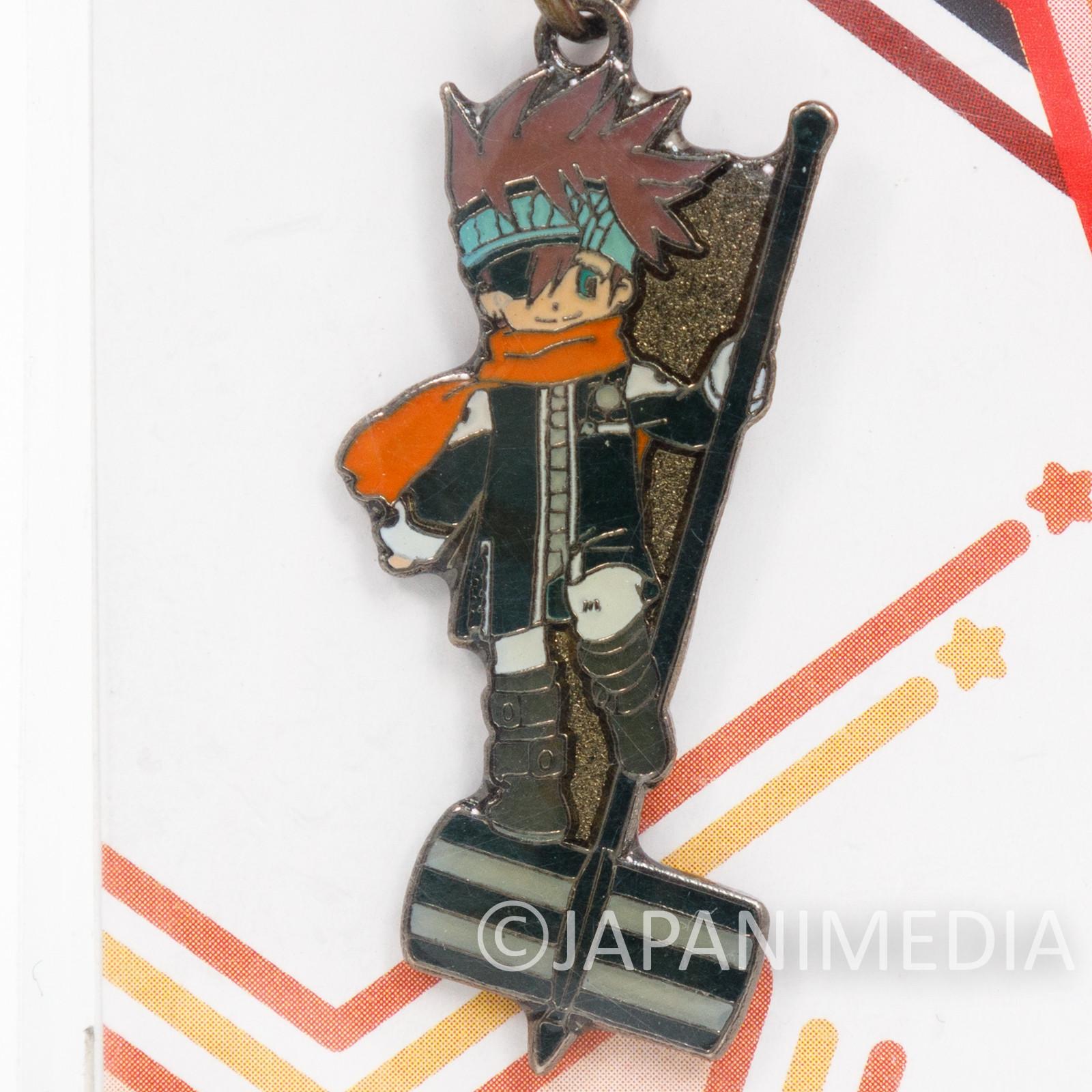 D.Gray-man Lavi Metal Mascot Charm Fastener Accessories Movic JAPAN ANIME MANGA