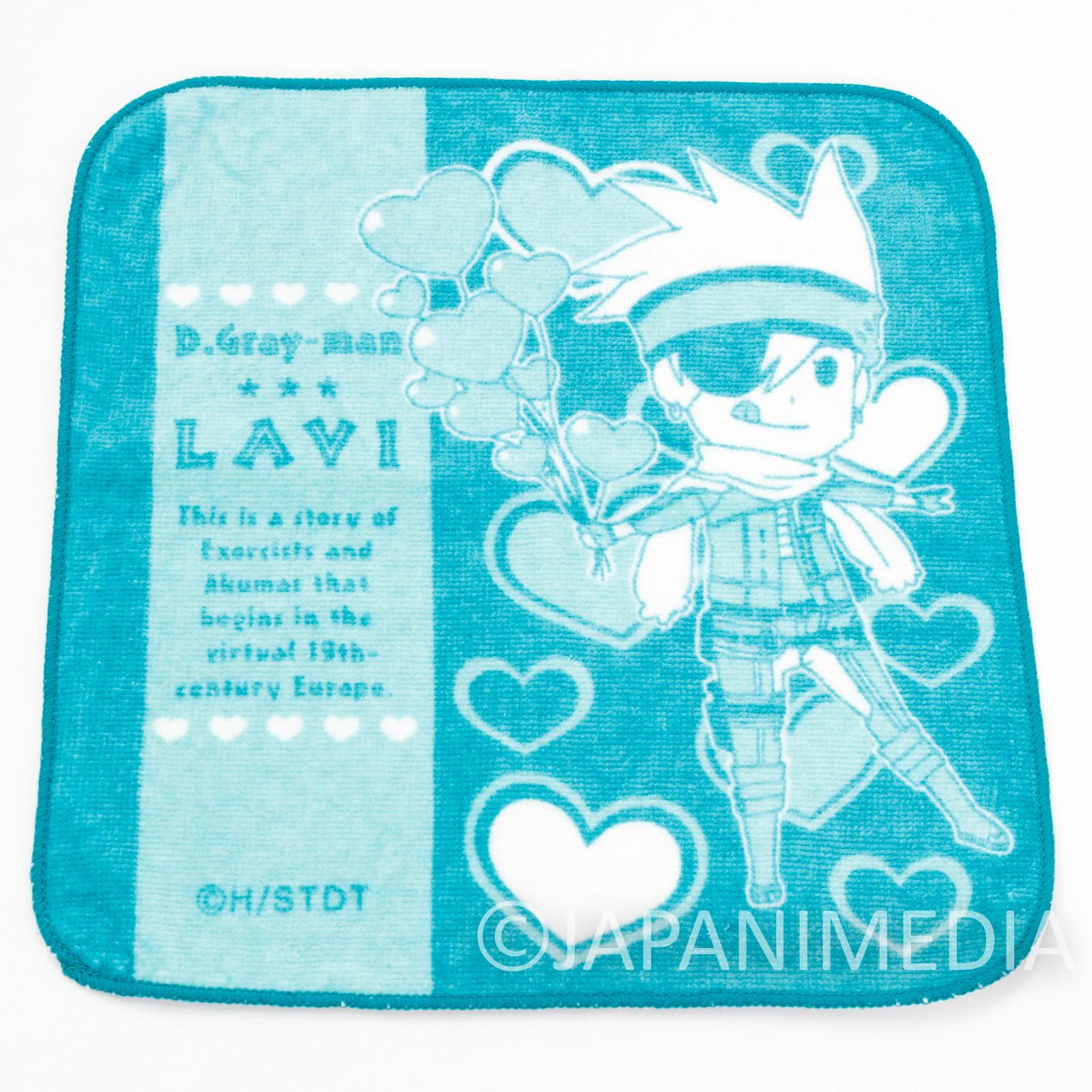 D.Gray-man Lavi Hand Towel 8x8 inch Movic JAPAN ANIME MANGA