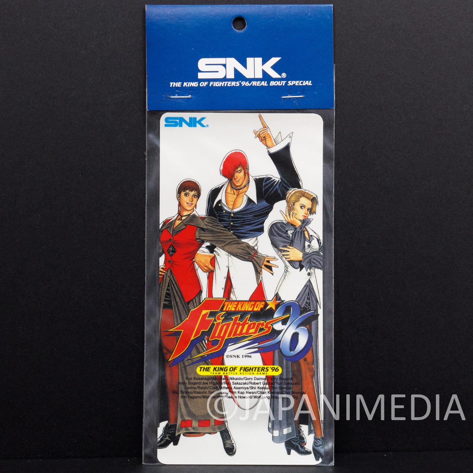 Retro KOF King of Fighters 96 Yagami Team Sticker SNK JAPAN
