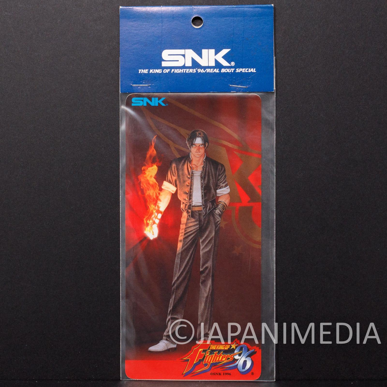 Retro KOF King of Fighters 96 Kyo Kusanagi Sticker SNK JAPAN