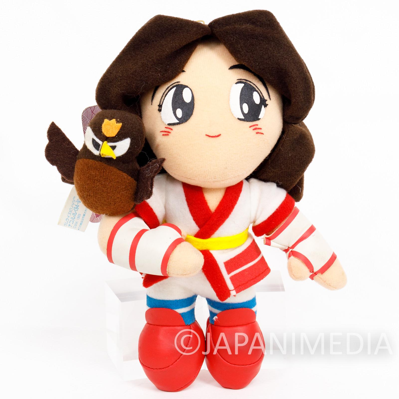 Samurai Shodown Nakoruru Plush Doll SNK JAPAN SPIRITS