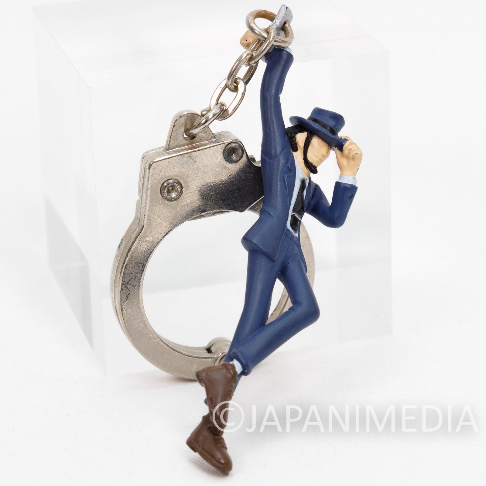 Lupin the Third (3rd) Jigen Handcuff & Figure Keychain Banpresto JAPAN ANIME