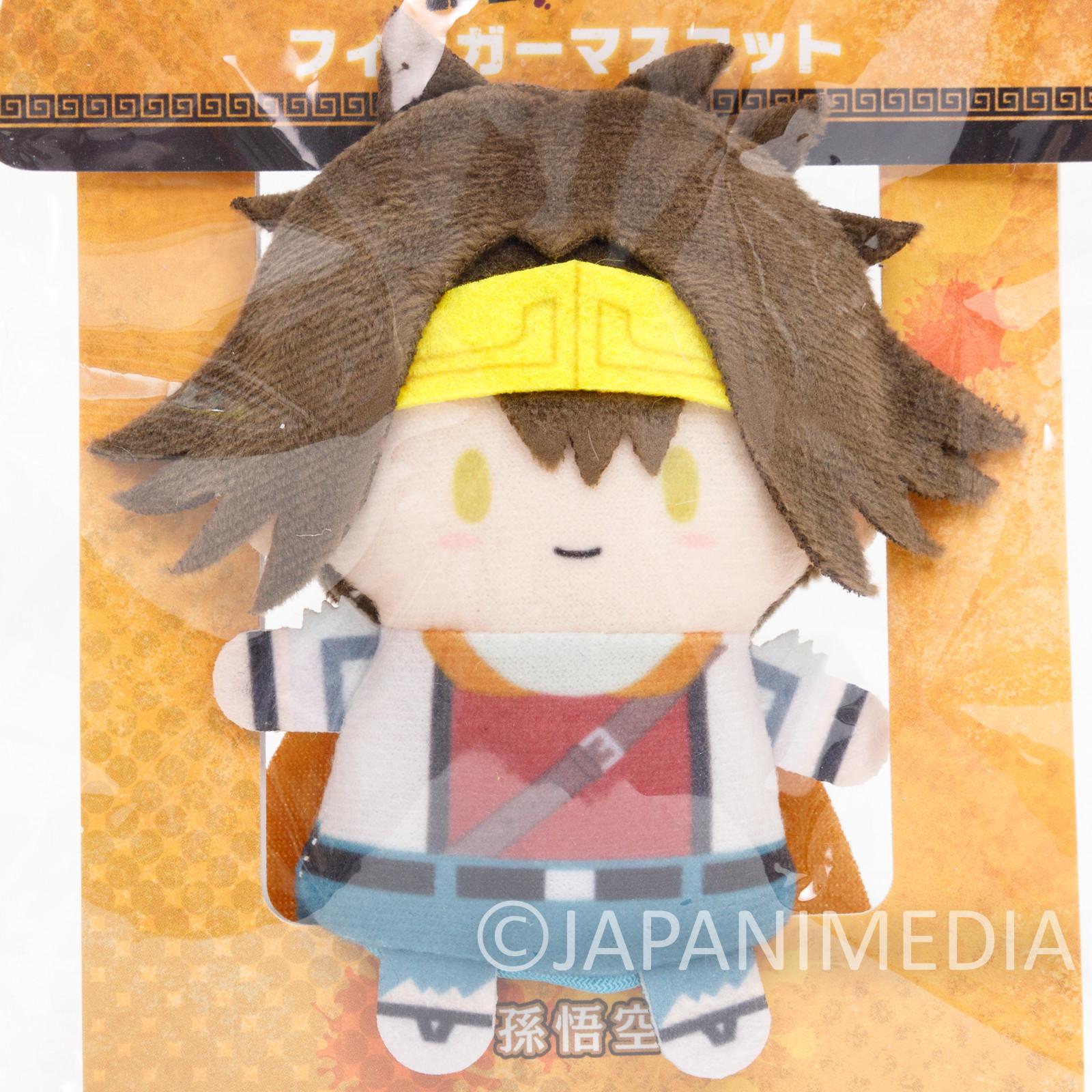 SAIYUKI Reload Blast Son Goku Finger Mascot Puppet Doll PUPPELA Kazuya Minekura