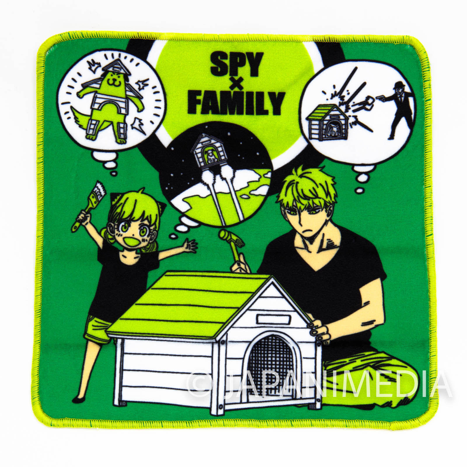Spy x Family Mini Towel [D :  Loid & Anya] JAPAN MANGA