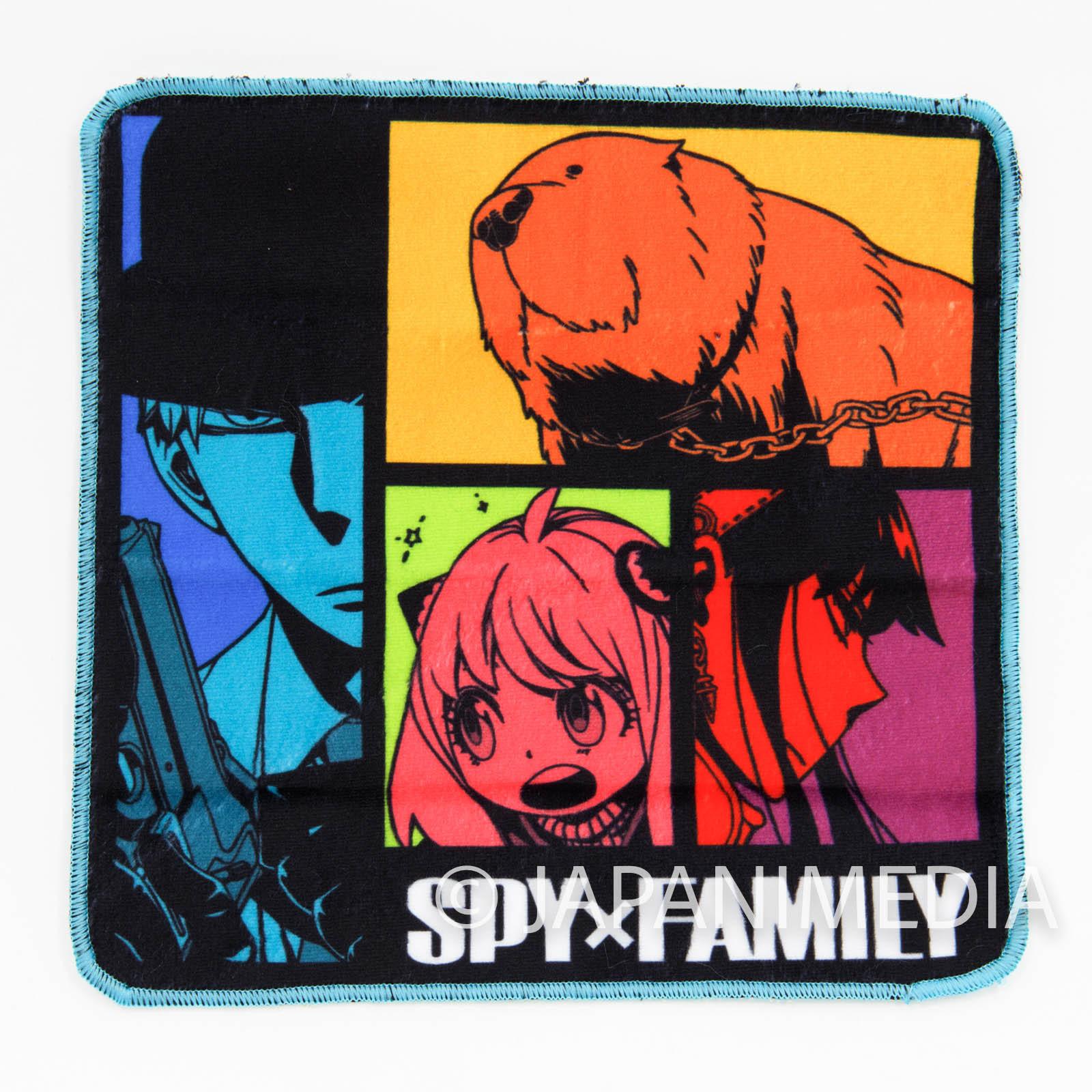 Spy x Family Mini Towel [B : Forger Family] JAPAN MANGA