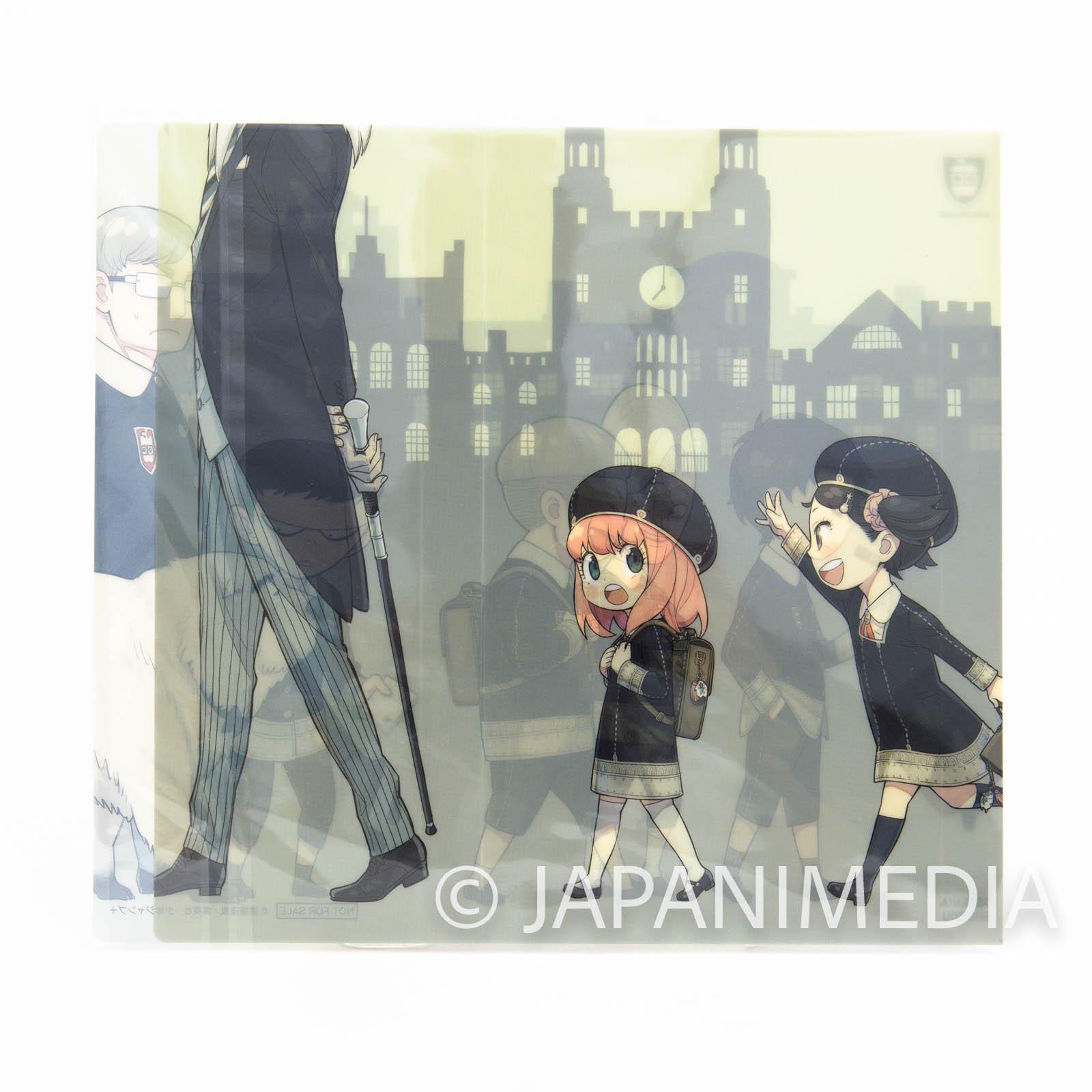 Spy x Family Eden college member Original Clear Book cover JAPAN MANGA