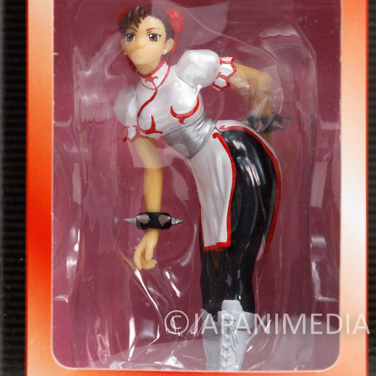 Street Fighter Chun-Li White Capcom Collection Figure Figure Banpresto JAPAN