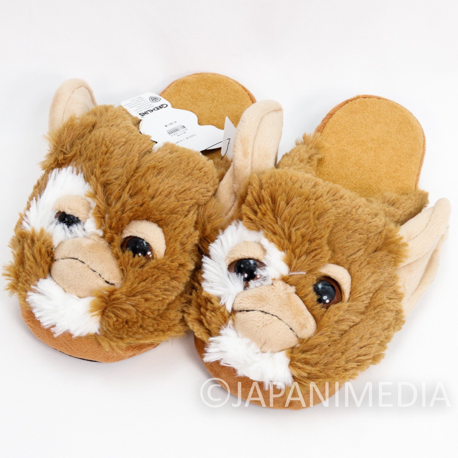 Gremlins Gizmo Fece Plush Doll Slippers niko and... JAPAN
