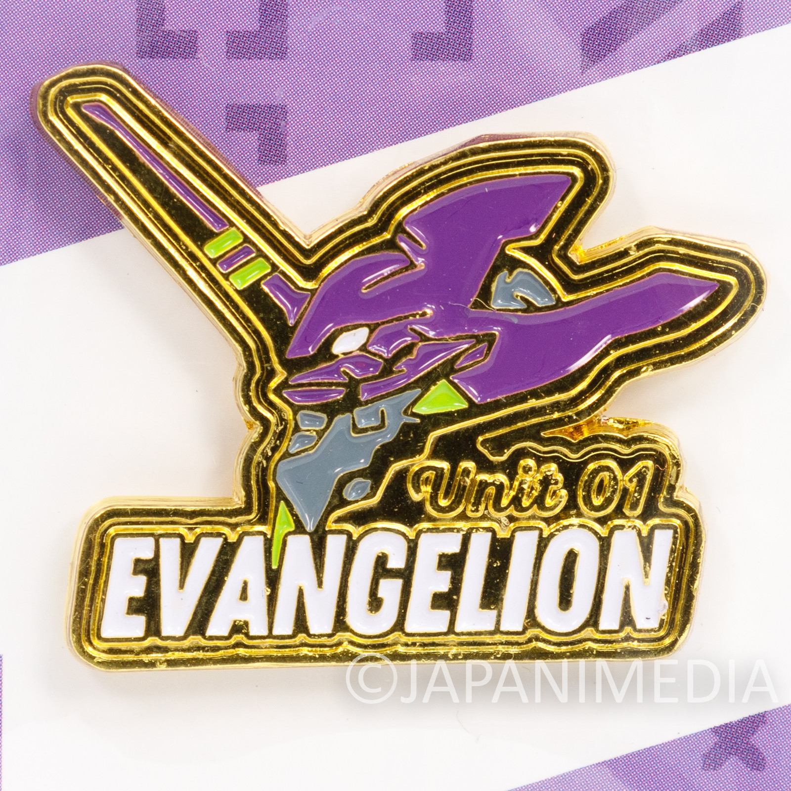 Evangelion EVA Unit 01 Pins JAMMY JAPAN ANIME