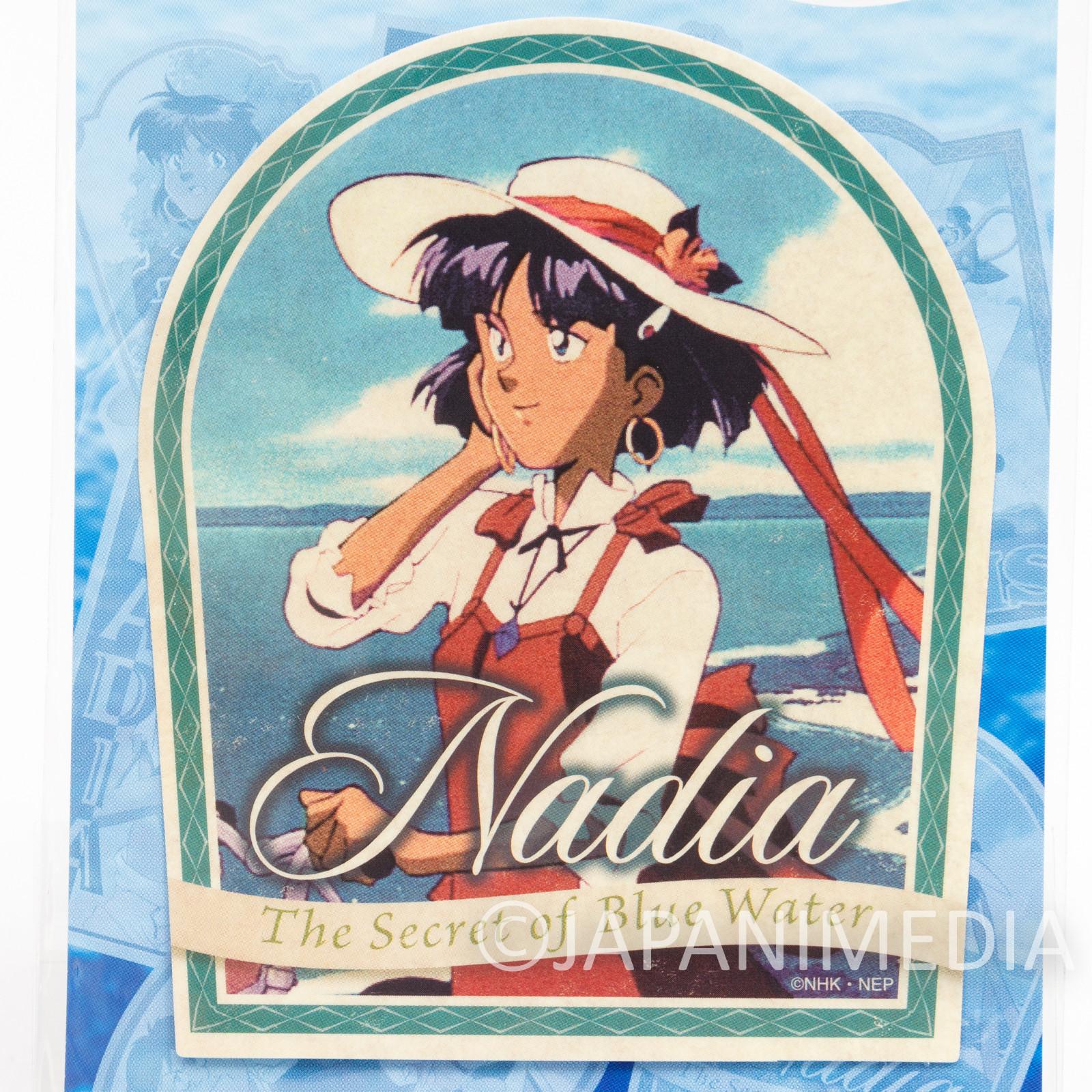 Nadia The Secret of Blue Water Travel Sticker#1 ANIME GAINAX