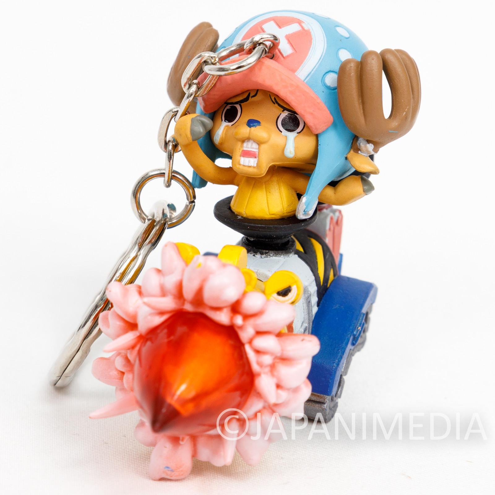 One Piece Tony Tony Chopper Figure Keychain Banpresto JAPAN ANIME
