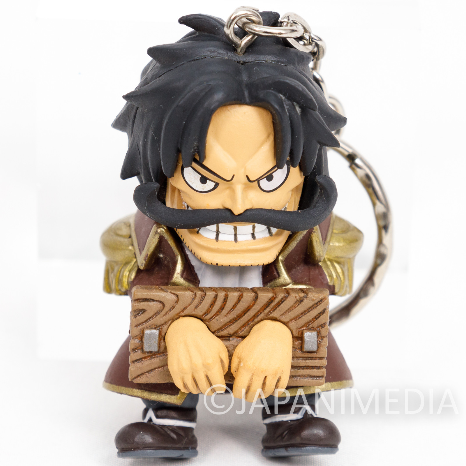 One Piece Grand Crew Gol D. Roger Figure Keychain Banpresto JAPAN ANIME