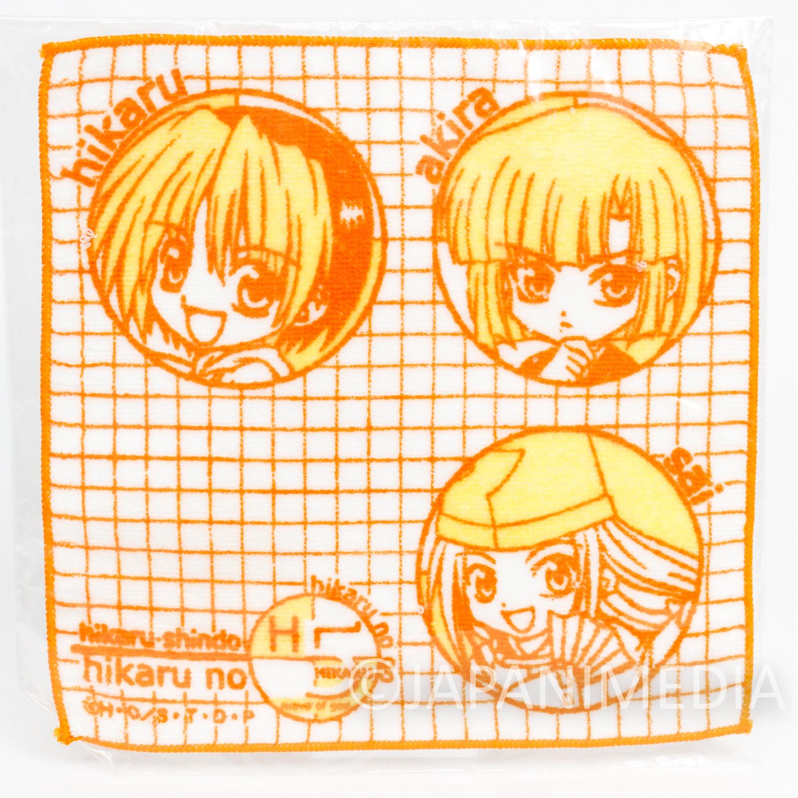 Hikaru no Go Hand Towel 8x8inch Hikaru Shindo Sai Fujiwara Akira Toya