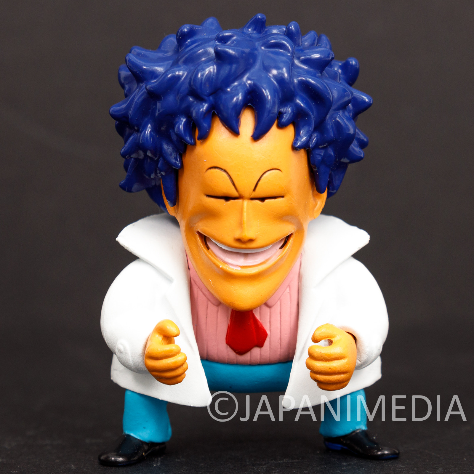 RARE! Dr. Slump Arale Chan Dr. Mashirito Mini Figure Organic JAPAN ANIME