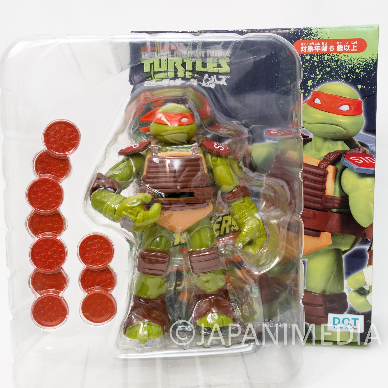 TMNT Teenage Mutant Ninja Turtles Michaelangelo Figure Fliners JAPAN