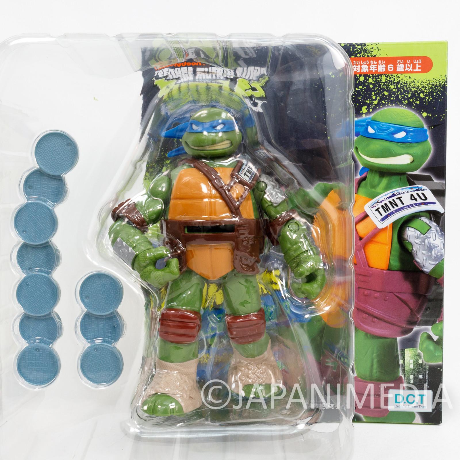 TMNT Teenage Mutant Ninja Turtles Leonardo Figure Fliners JAPAN