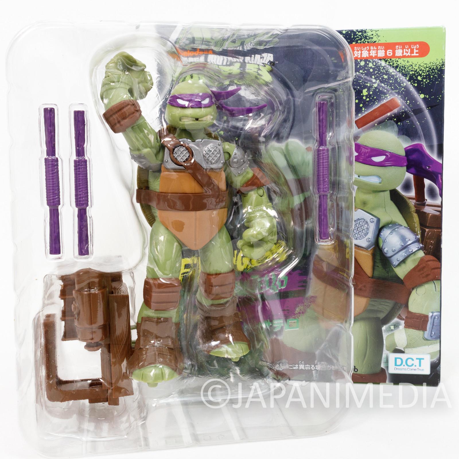 TMNT Teenage Mutant Ninja Turtles Donatello Figure Fliners JAPAN