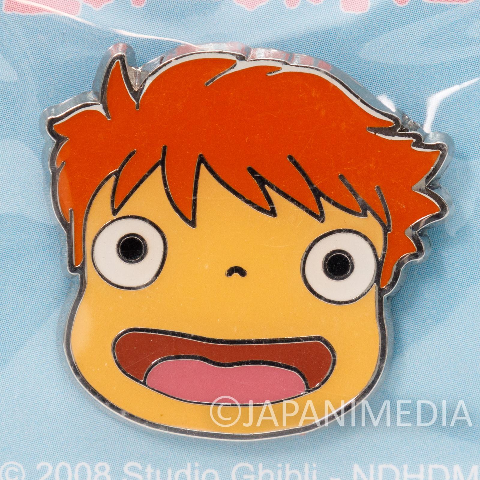 Ponyo on the Cliff by the Sea Metal Pins Ghibli JAPAN ANIME MANGA