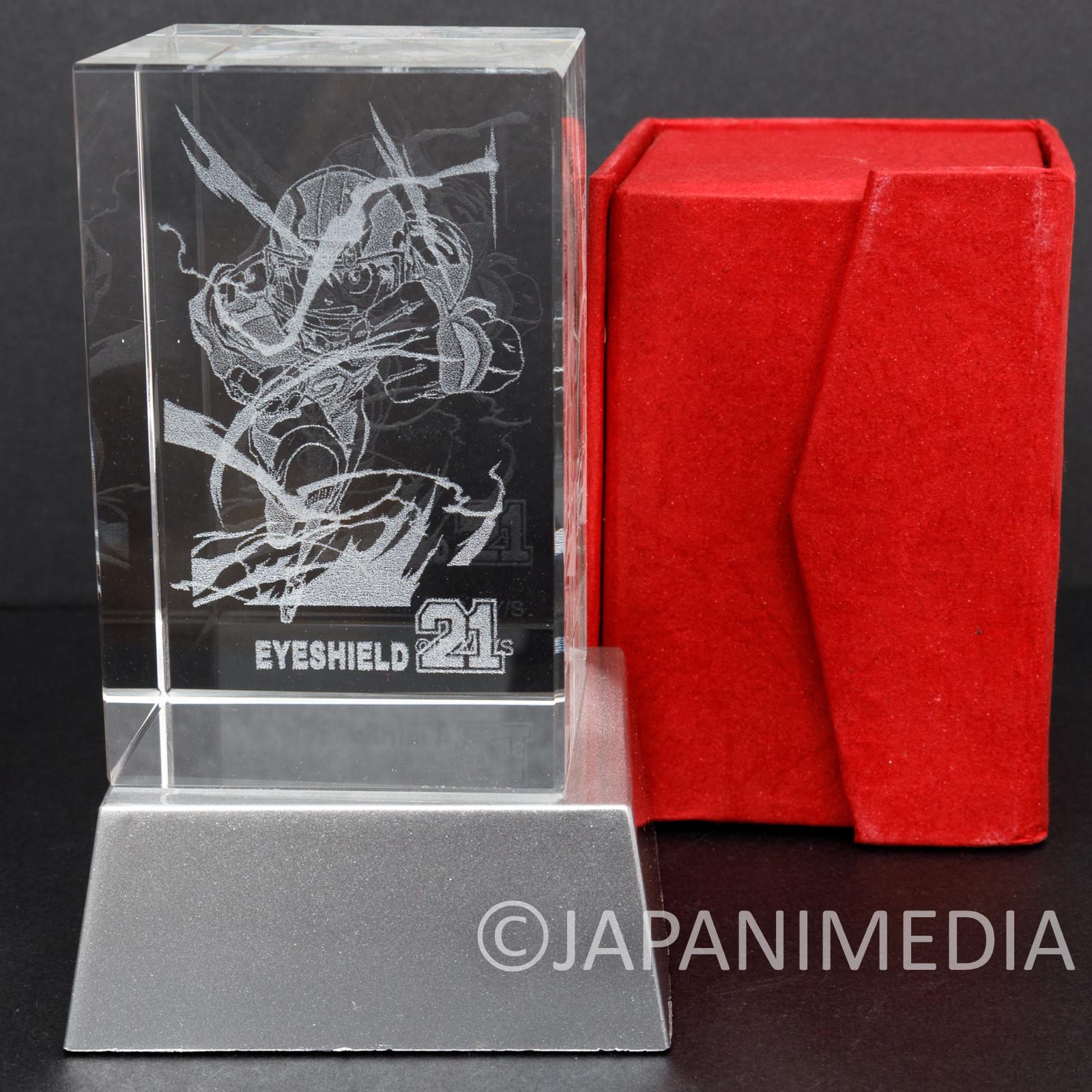 Eyeshield 21 Sena Kobayakawa Crystal Decoration LED Light Jump Limited JAPAN