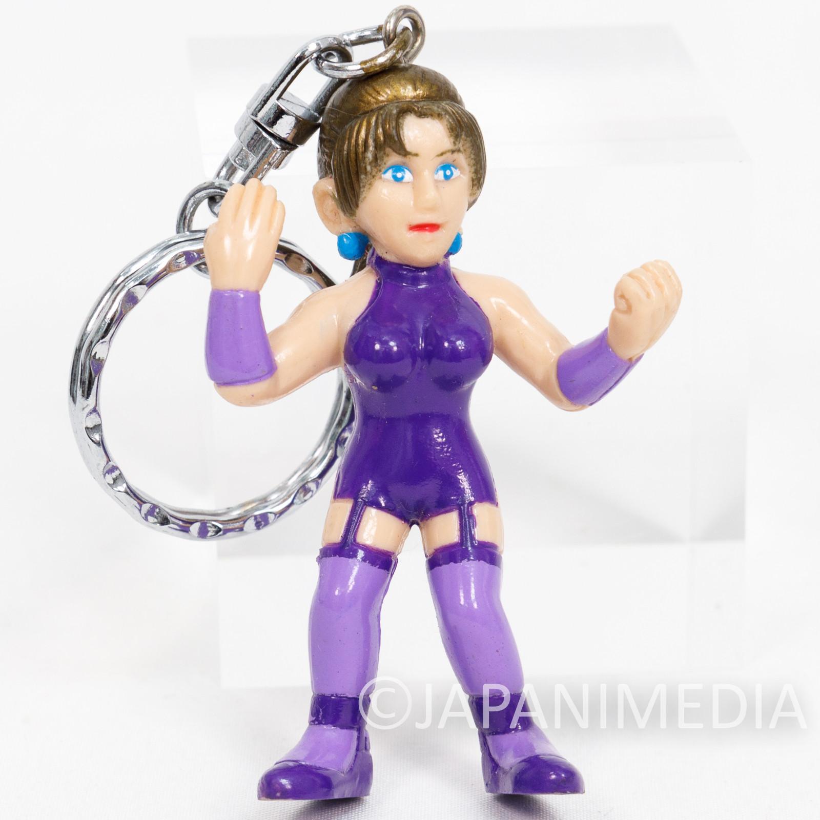 Retro RARE! Nina Williams Mishima Figure Keychain Namco JAPAN GAME