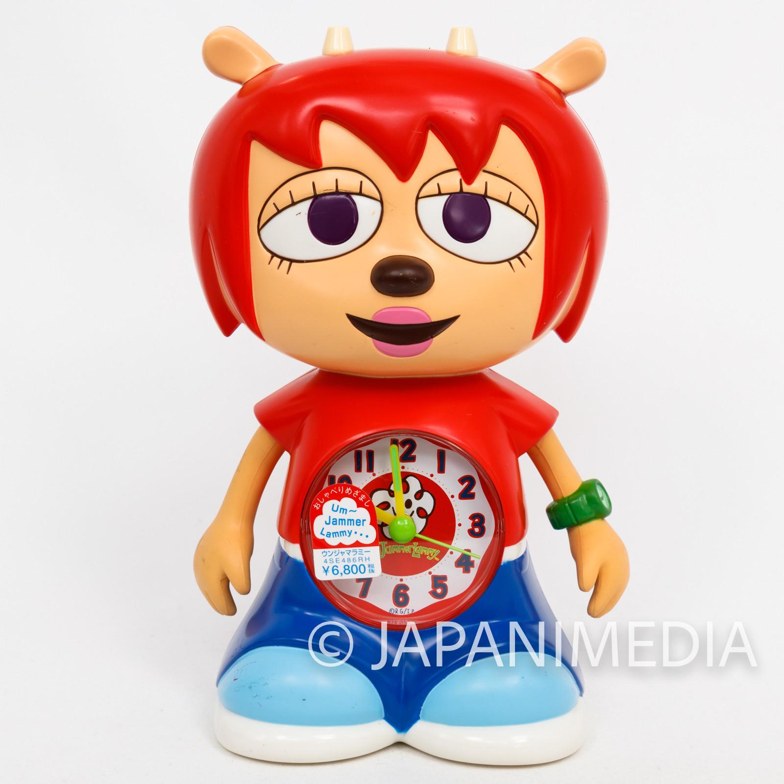 UmJammer Lammy Figure Type Alarm Clock JAPAN ANIME GAME PARAPPA RAPPER