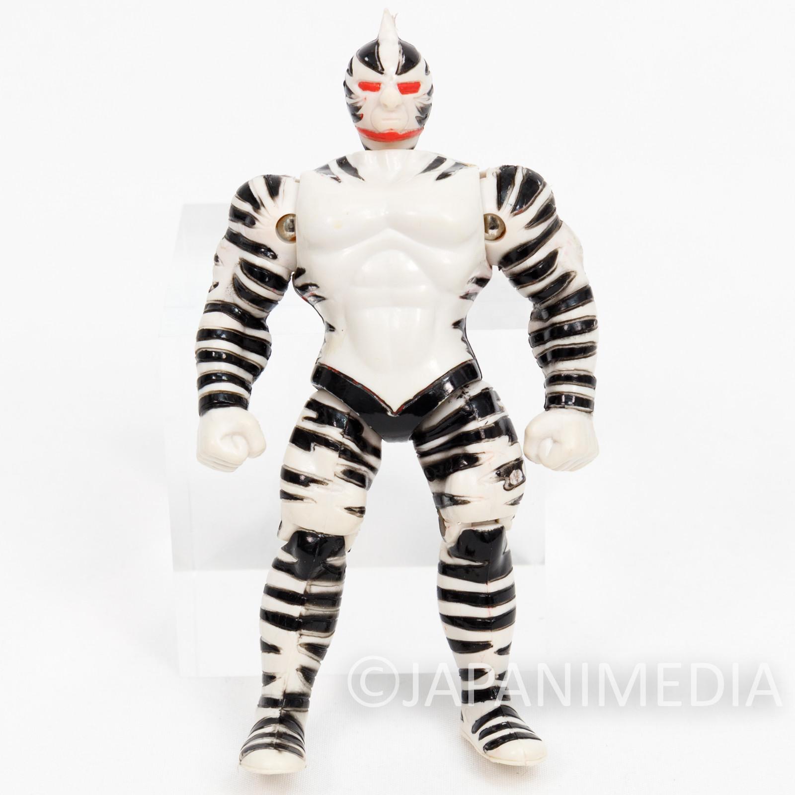 Kinnikuman Zebra Figure Chojin Power Series BANDAI ULTIMATE MUSCLE 2