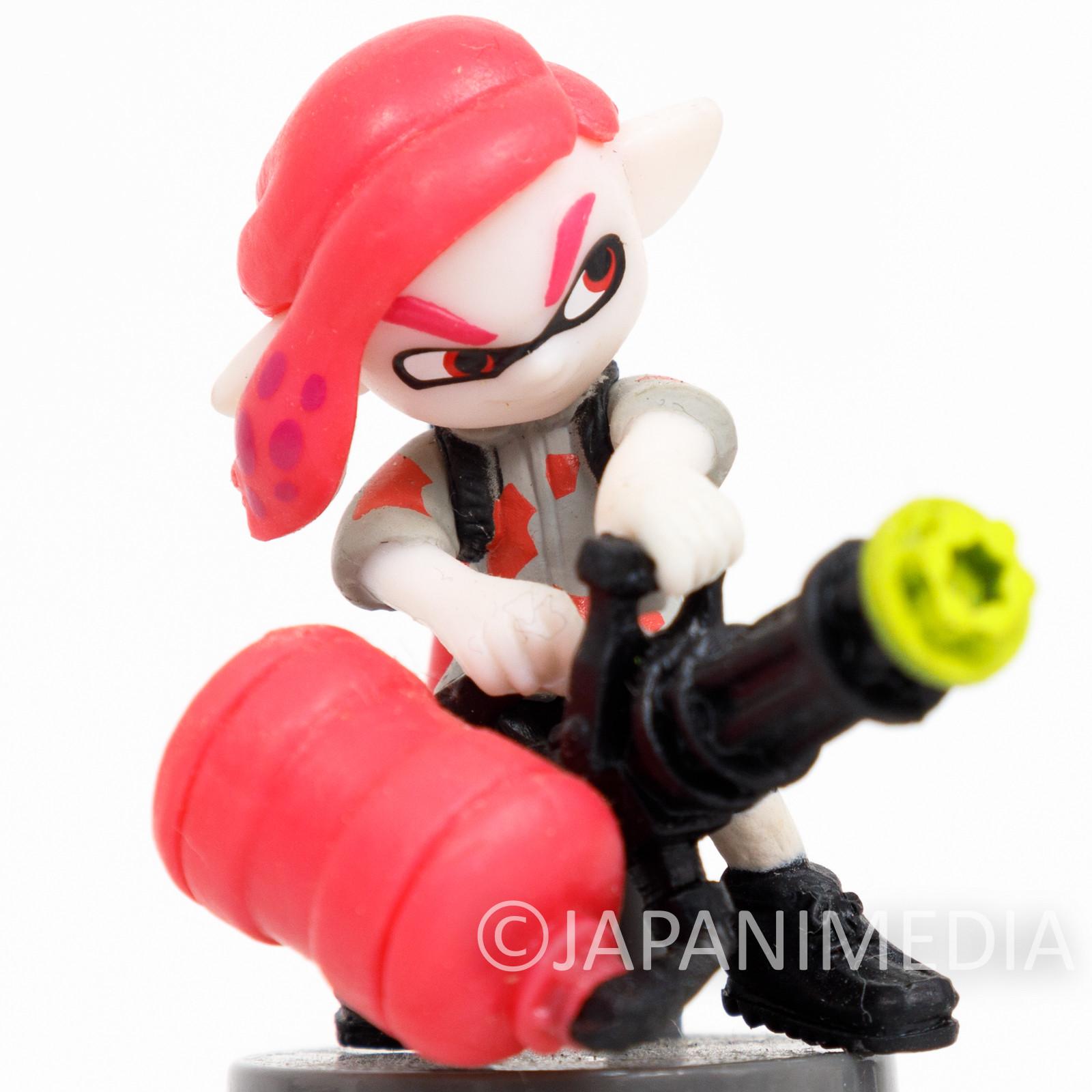 Splatoon 2 Squid Boy with Heavy Splatling Choco-egg Mini Figure JAPAN SWITCH