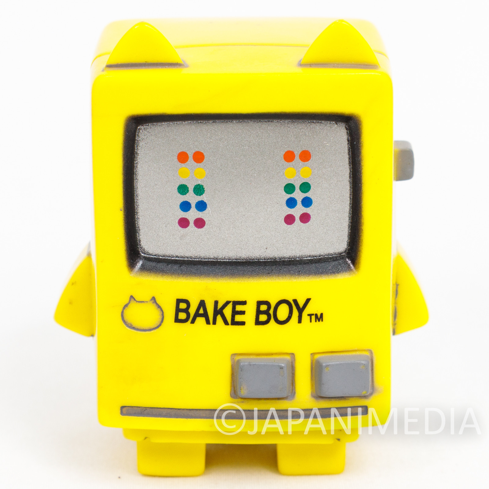 BAKETAN Yellow ver. Soft Vinyl Figure Medicom Toy VAG Series JAPAN