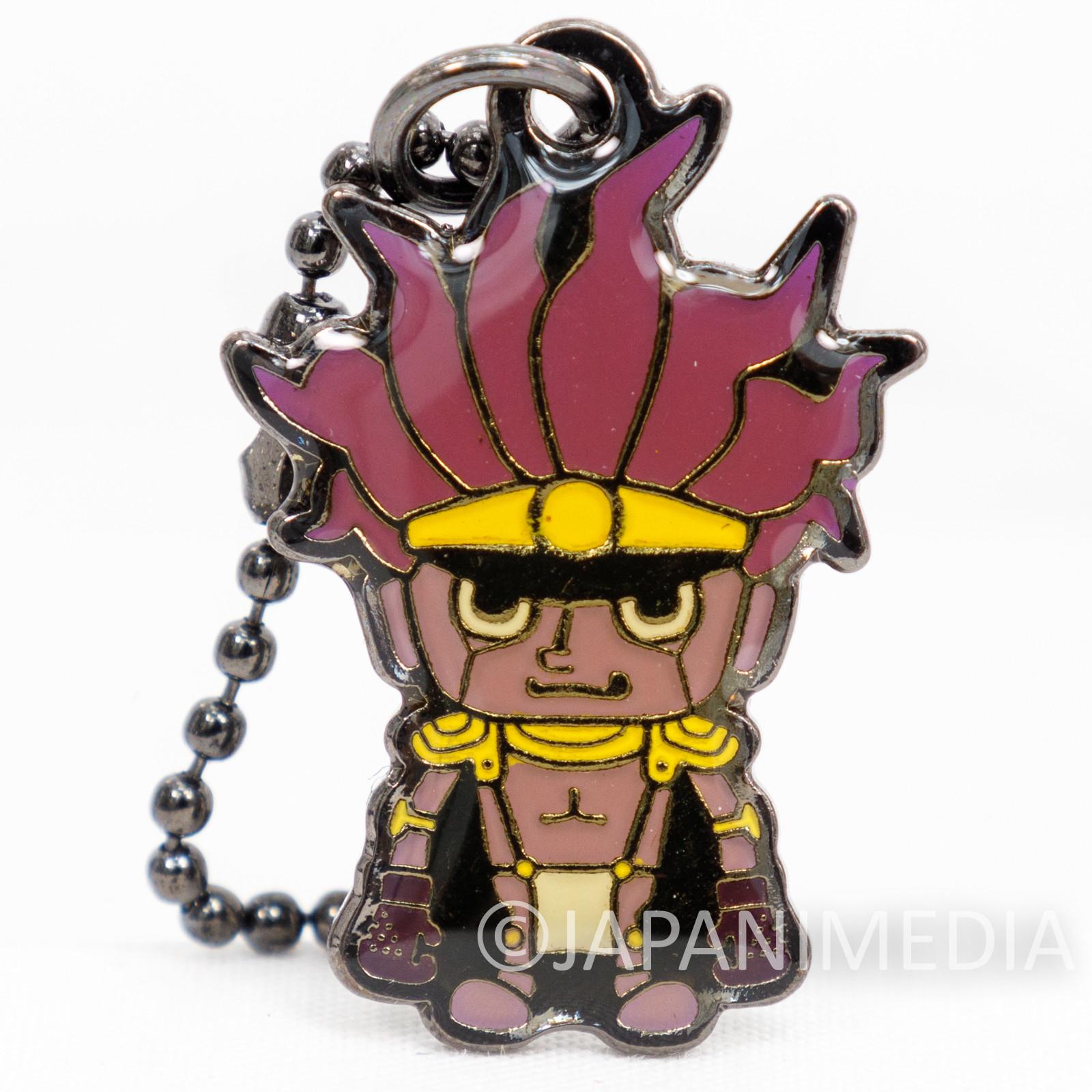 JoJo's Bizarre Adventure Star Platinum Metal Mascot Ballchain BANDAI
