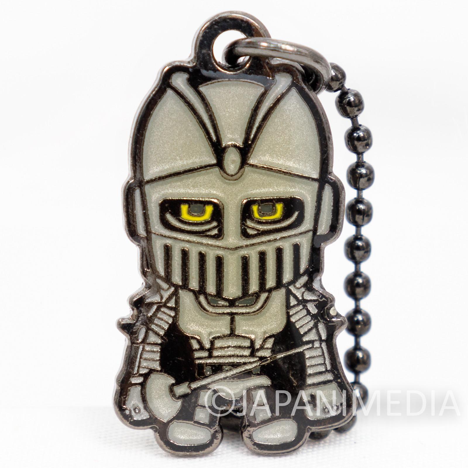 JoJo's Bizarre Adventure Silver Chariot Metal Mascot Ballchain BANDAI