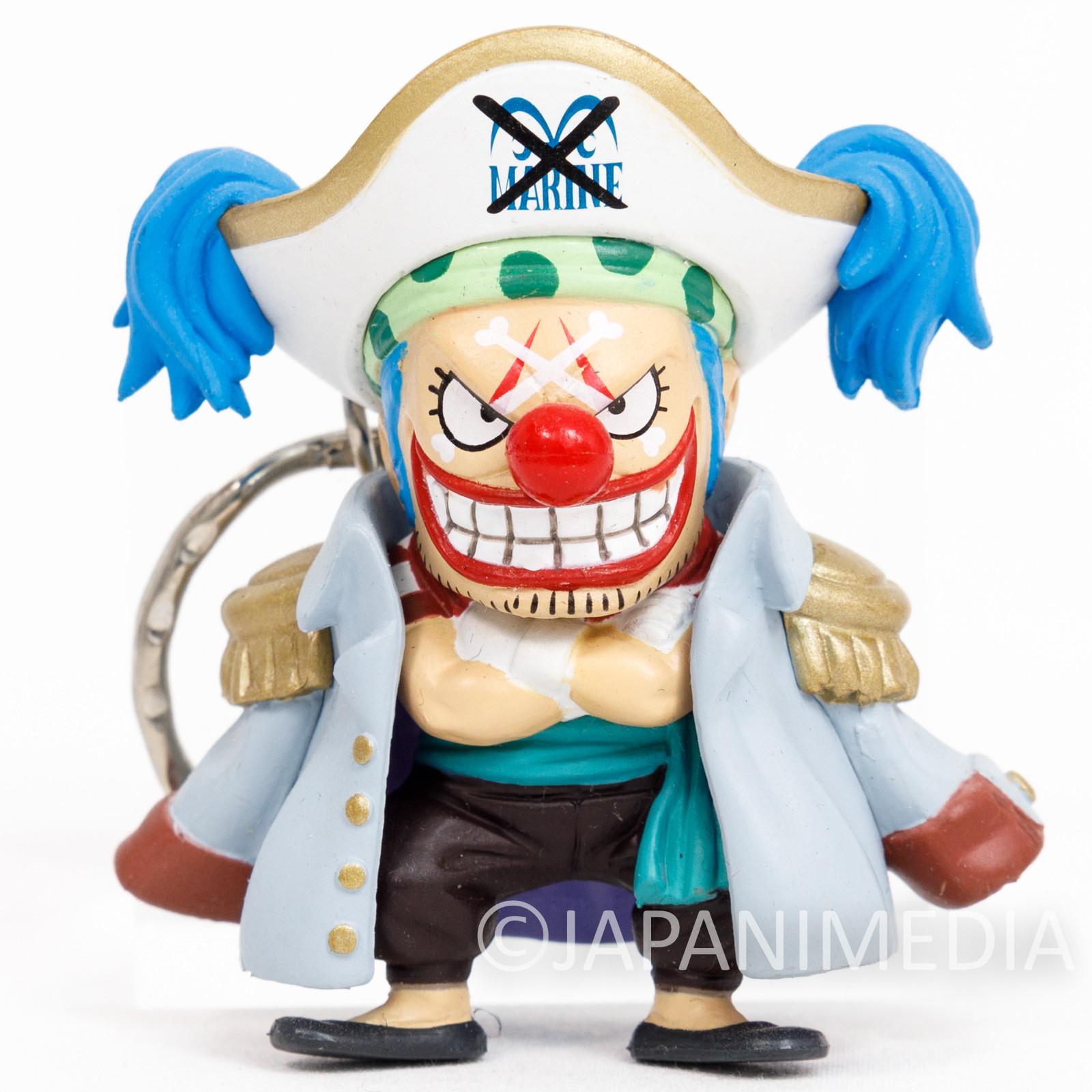 One Piece Buggy Figure Keychain Banpresto JAPAN ANIME