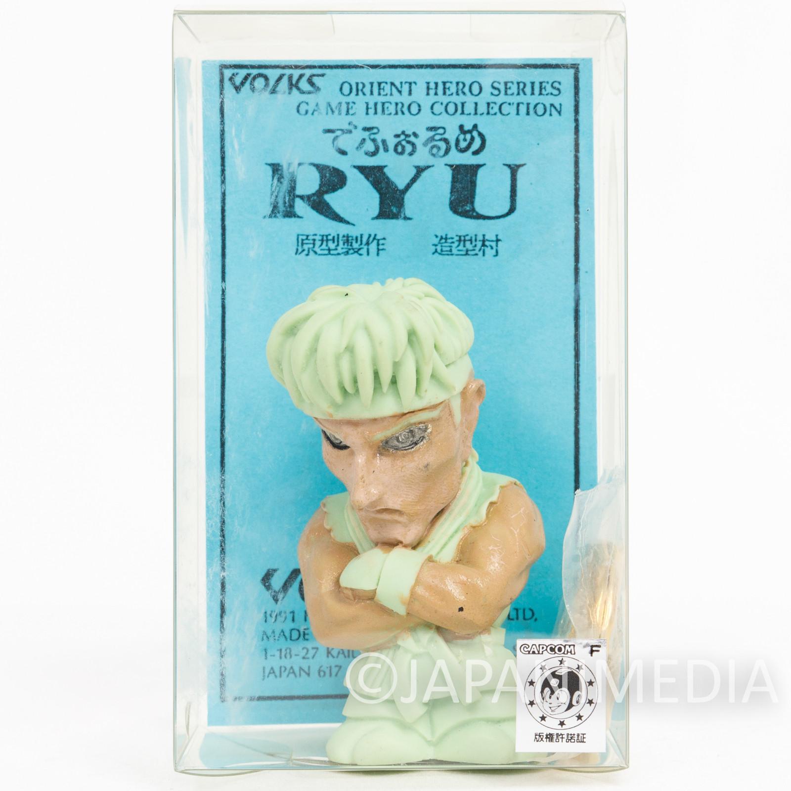 Street Fighter II 2 RYU Resin Cast Model Kit Volks CAPCOM 1992 JAPAN 2