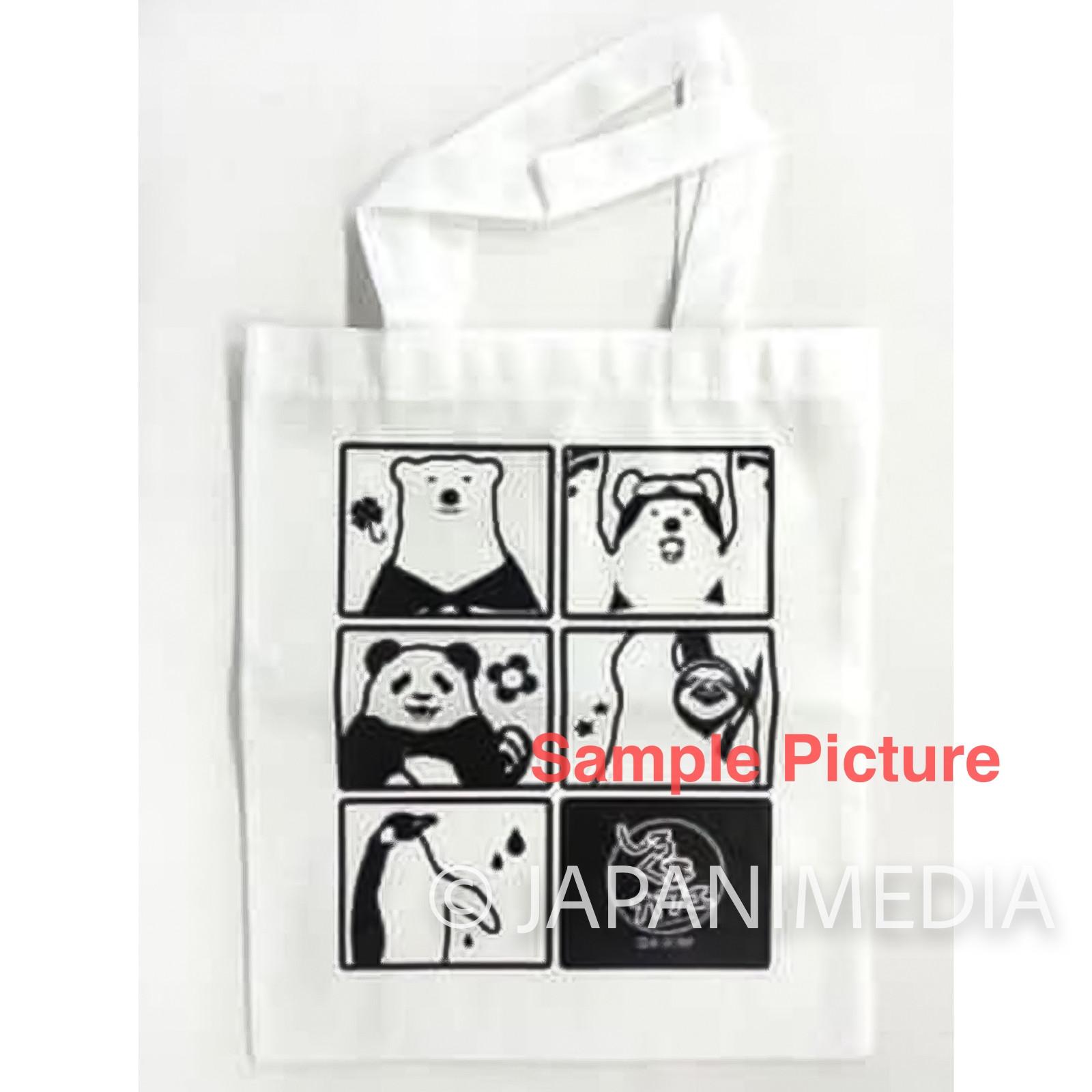 Shirokuma Cafe Polar Bear Design Tote Bag JAPAN ANIME
