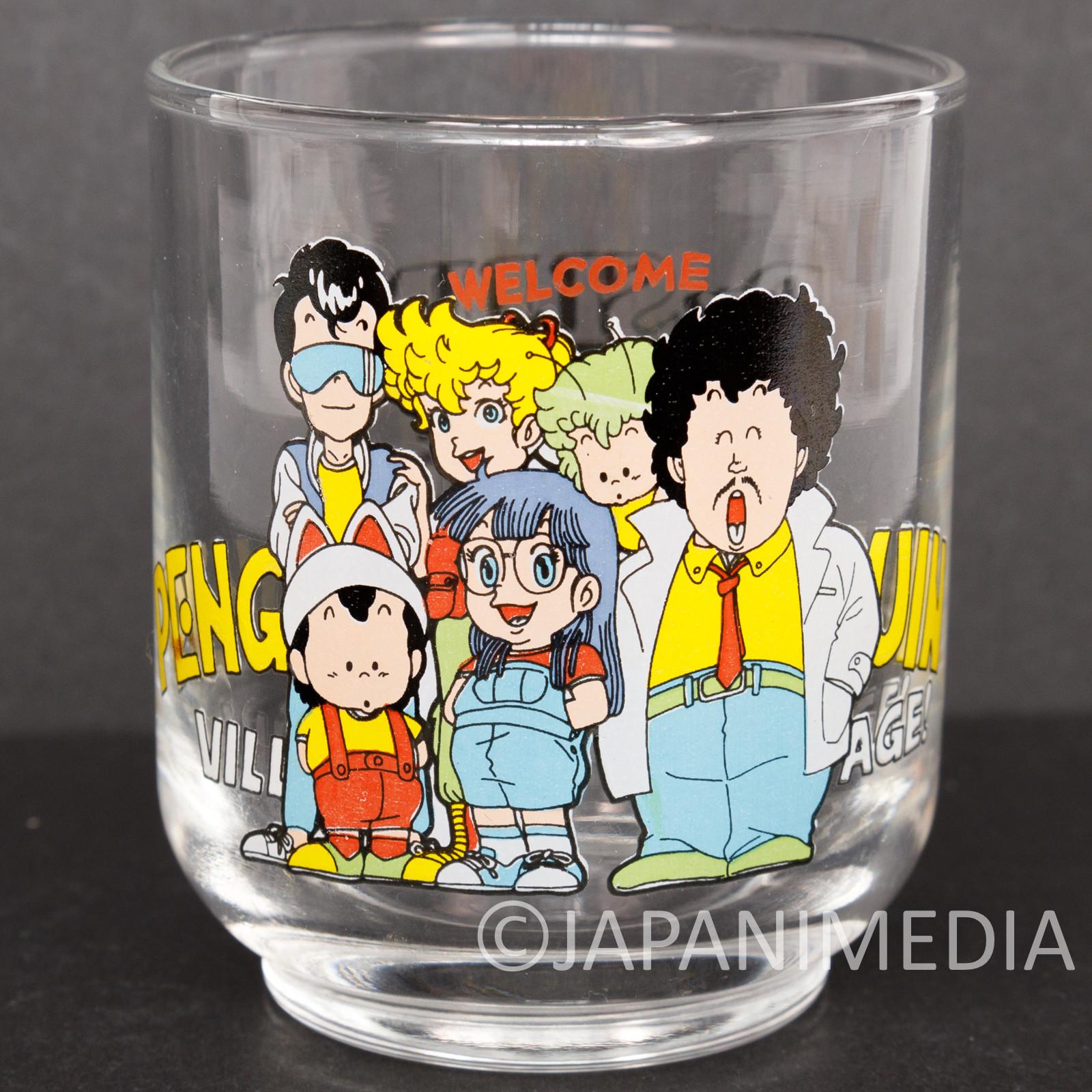 Dr. Slump Arale chan Retro Small Glass JAPAN ANIME MANGA