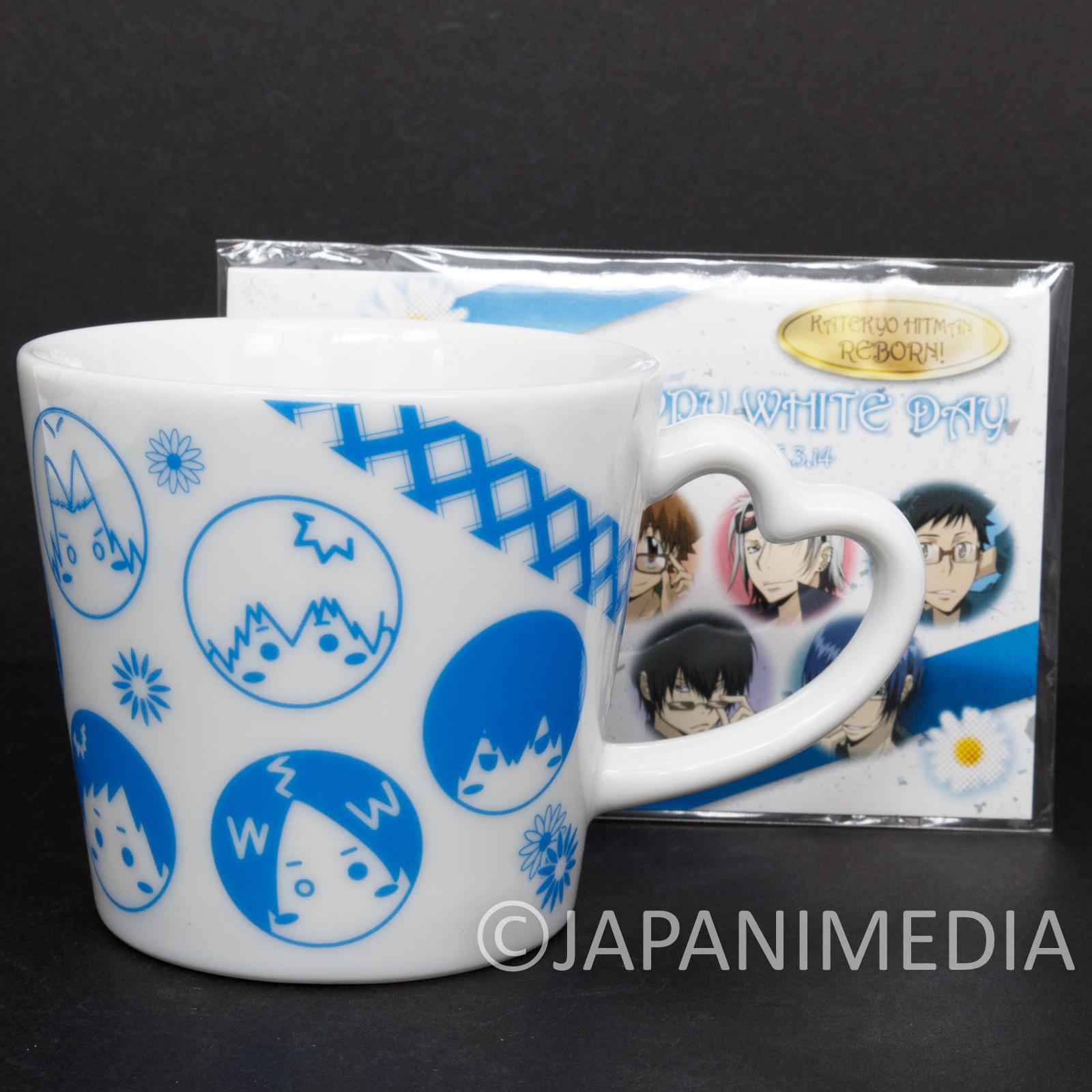 Katekyo Hitman REBORN! Mug Happy White Day JAPAN ANIME MANGA SHONEN JUMP