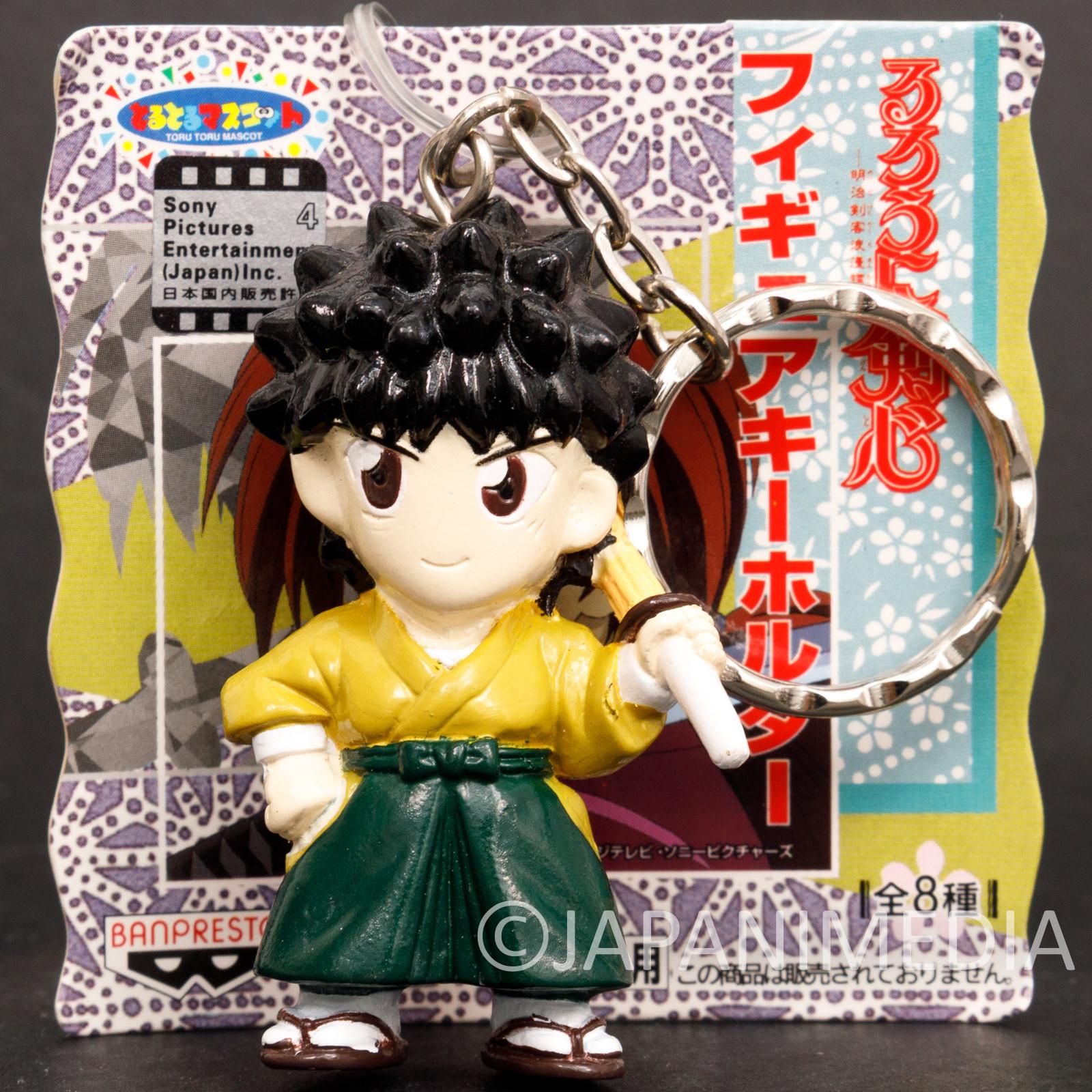 Rurouni Kenshin Yahiko Myoujin Figure Keychain JAPAN ANIME MANGA
