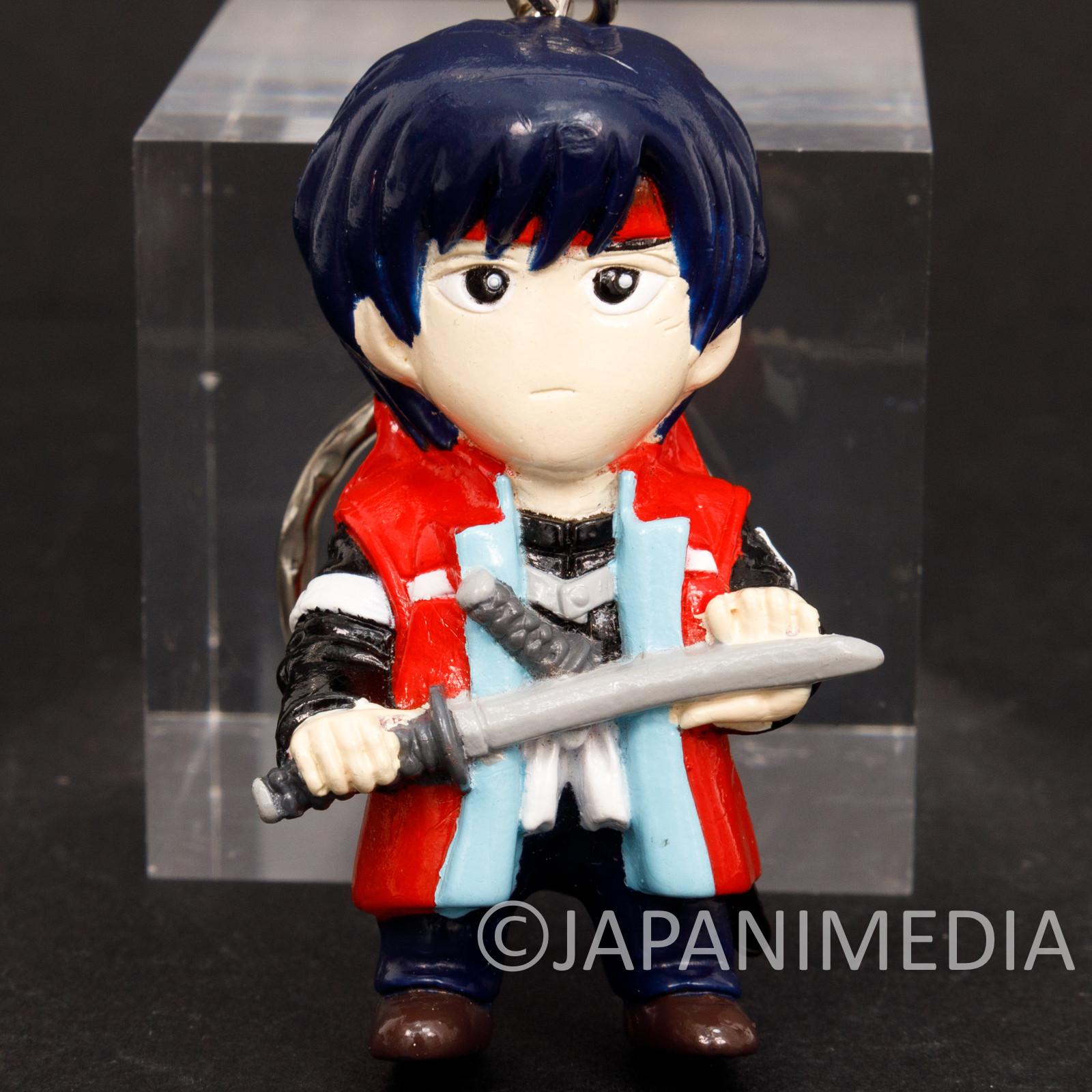 Rurouni Kenshin Sozo Sagara Figure Keychain JAPAN ANIME MANGA