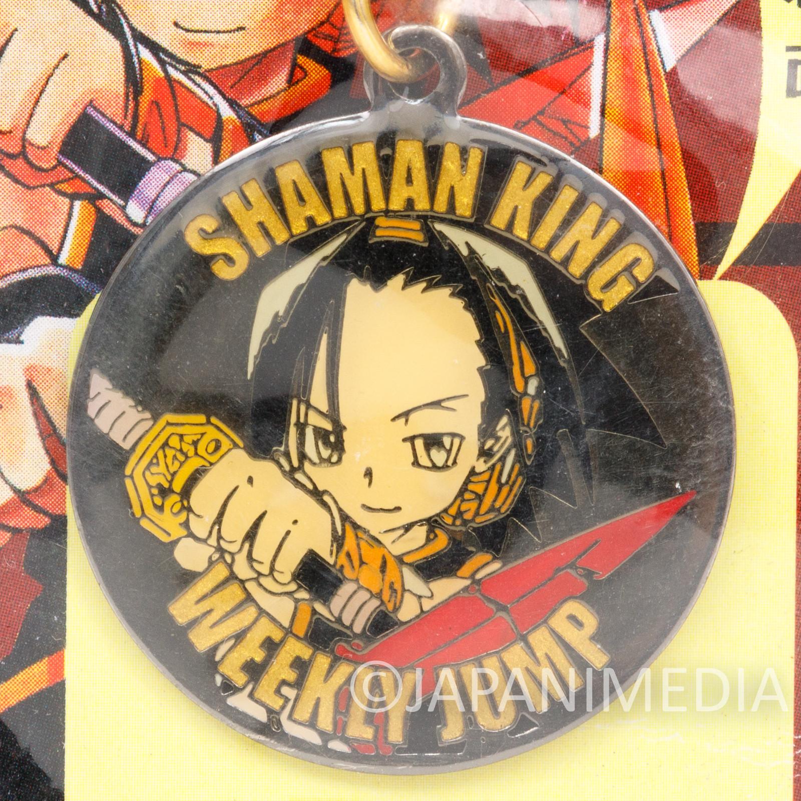Shaman King Yoh Asakura Metal Charm Strap Shonen Jump JAPAN ANIME MANGA