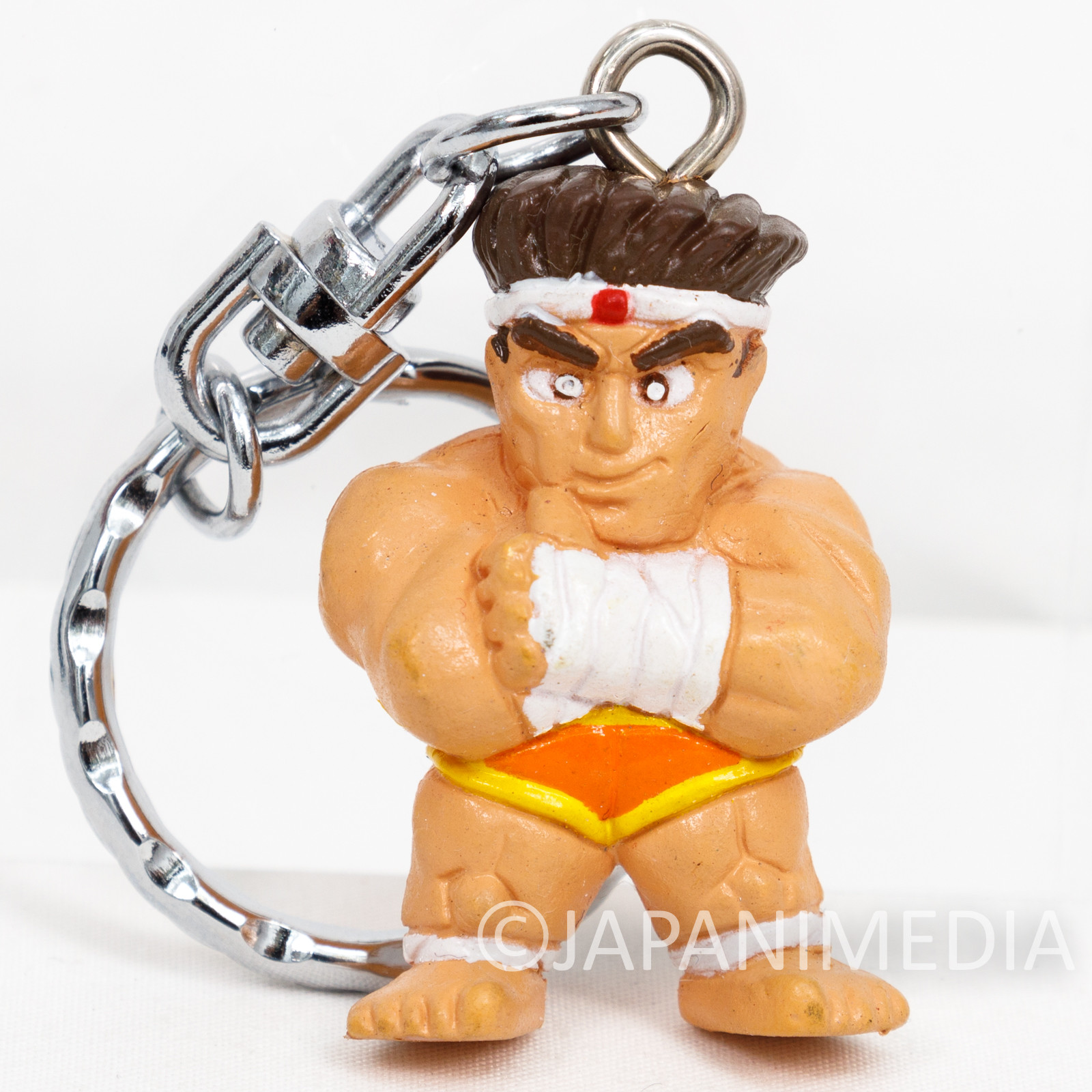 KOF King of Fighters Fatal Fury Joe Higashi Figure Keychain JAPAN SNK