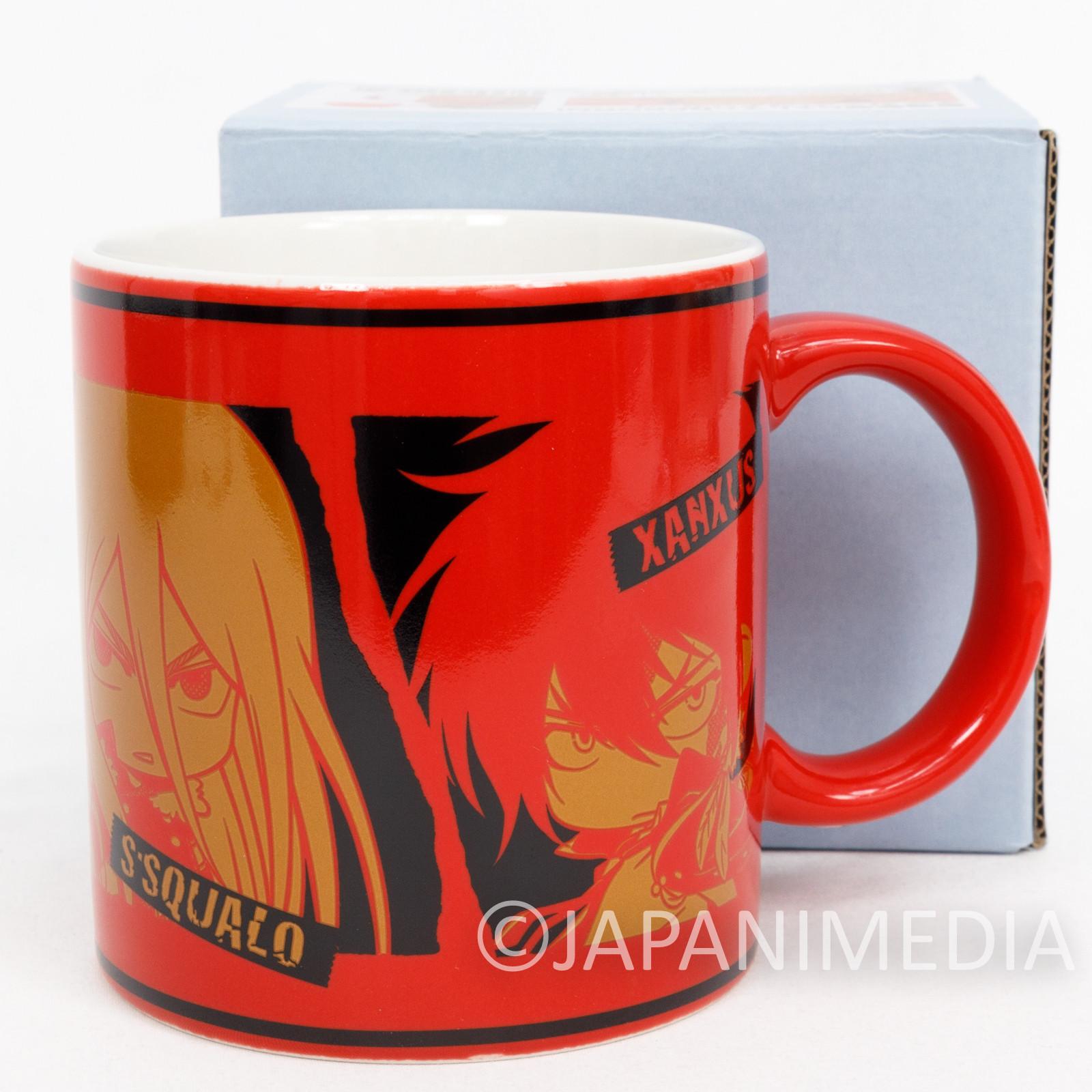 Katekyo Hitman REBORN! Mug Varia ver. JAPAN ANIME MANGA SHONEN JUMP