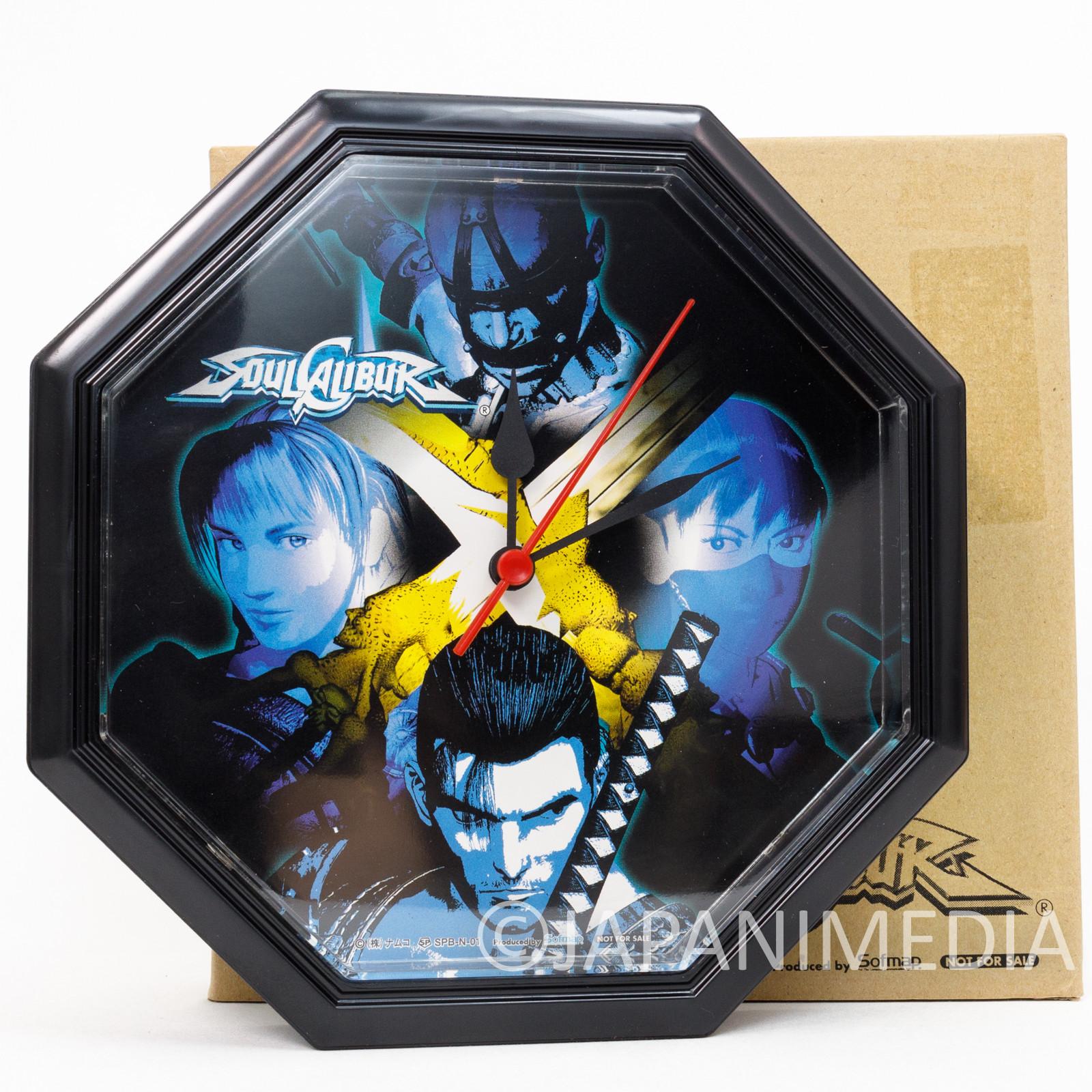 Soulcalibur Wall Clock Namco JAPAN GAME