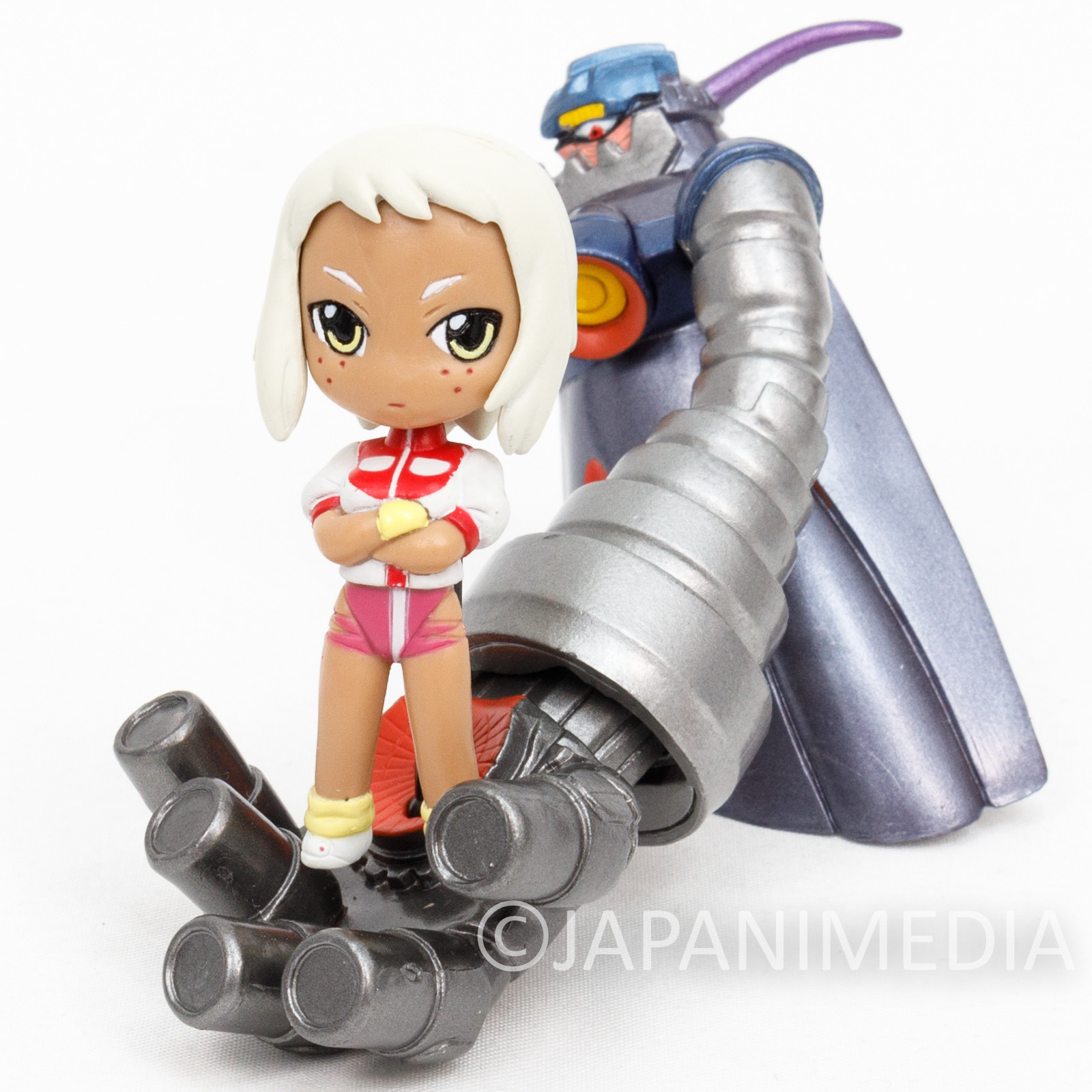 Diebuster Aim For the Top 2! Lal'c on Dix-Neuf Mini Figure GAINAX GUNBUSTER