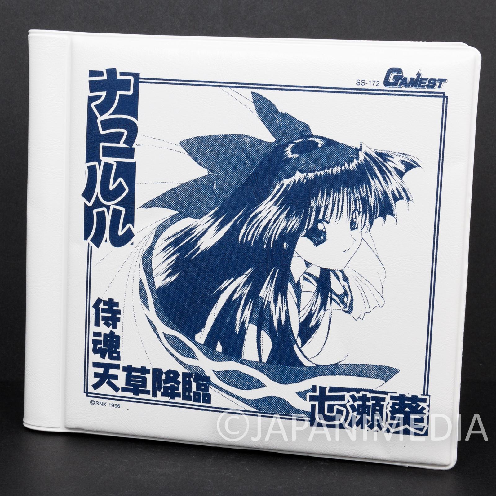 Samurai Shodown Nakoruru CD Disk Case Holder GAMEST SNK SPIRITS