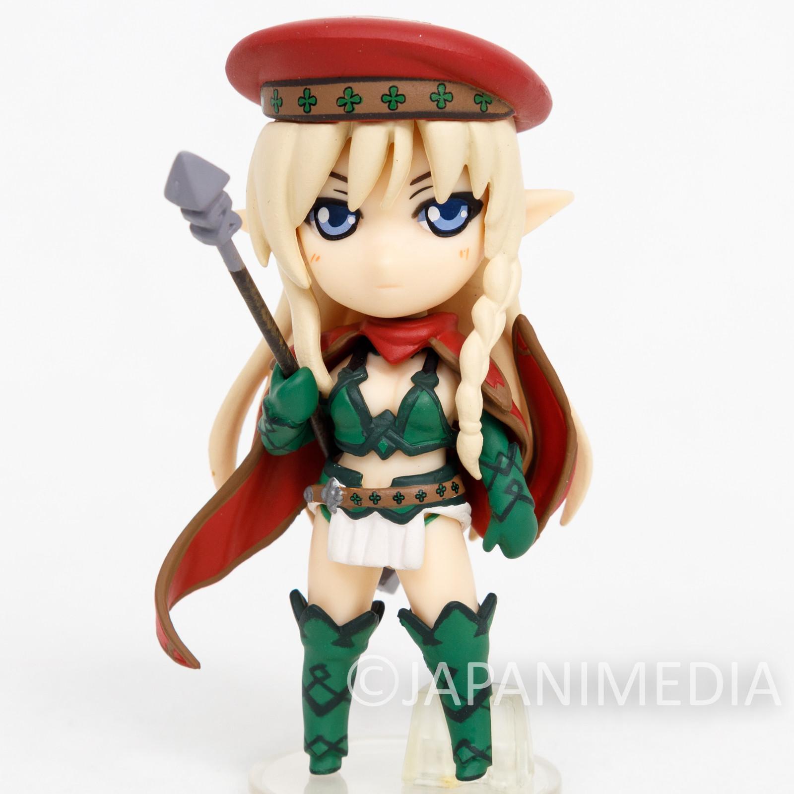 Queen's Blade Alleyne Mini Figure Collection Hobby Japan