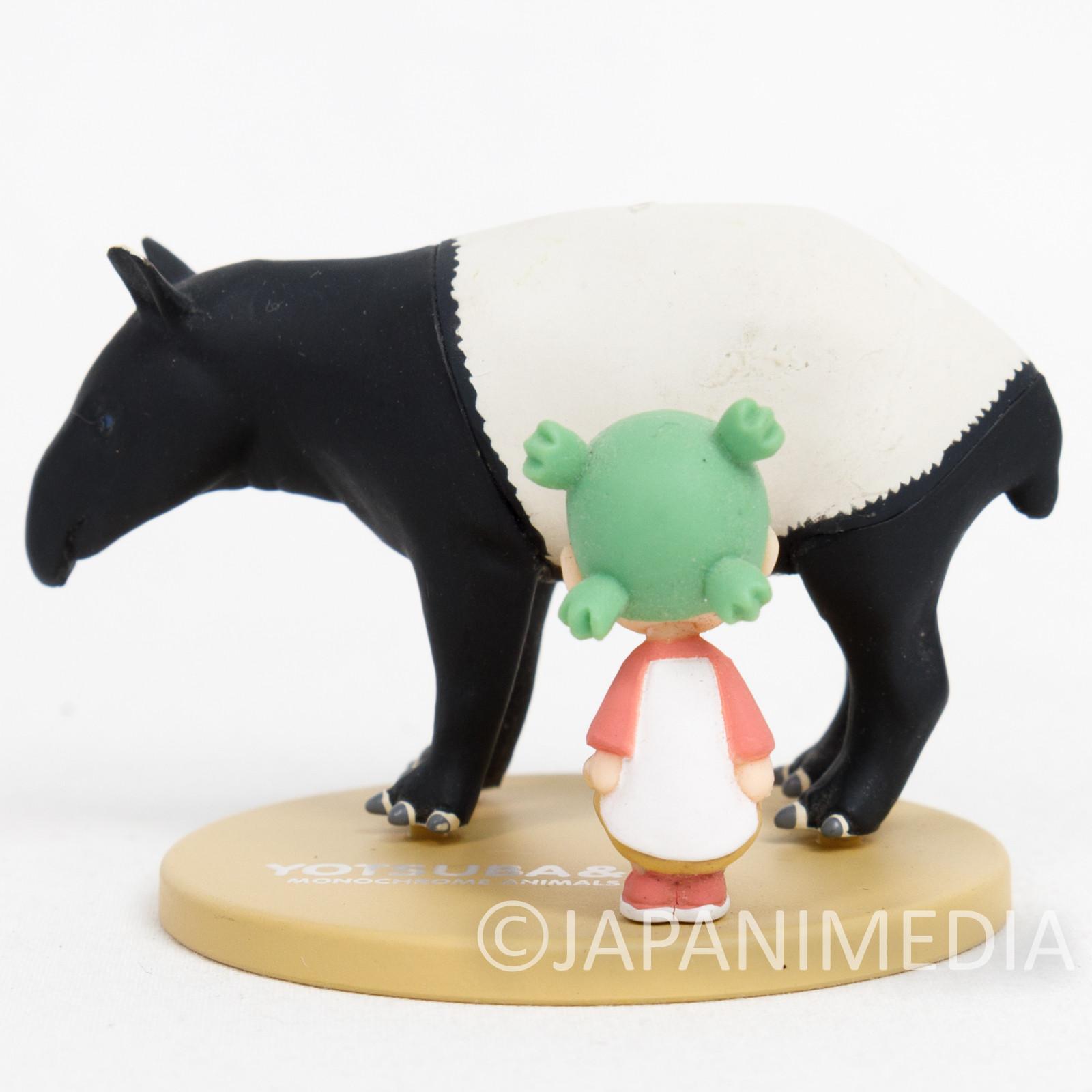 Yotsuba& Yotsuba with Malayan Tapir Mini Figure JAPAN ANIME MANGA